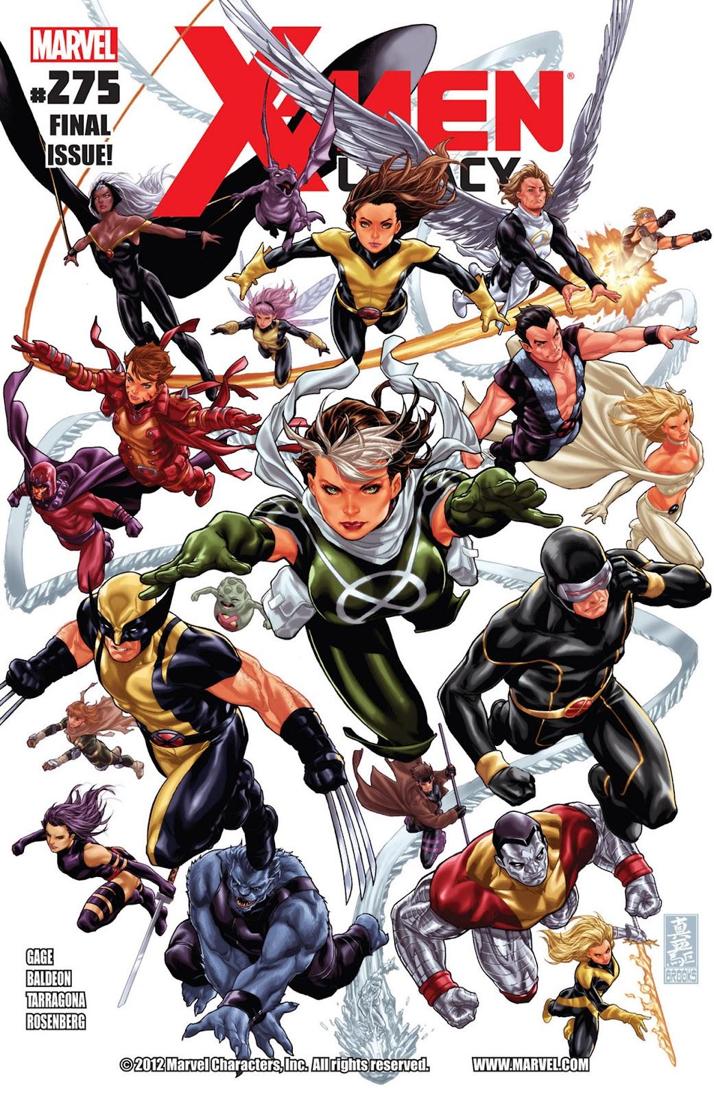 X-Men Legacy (2008) 275 Page 1