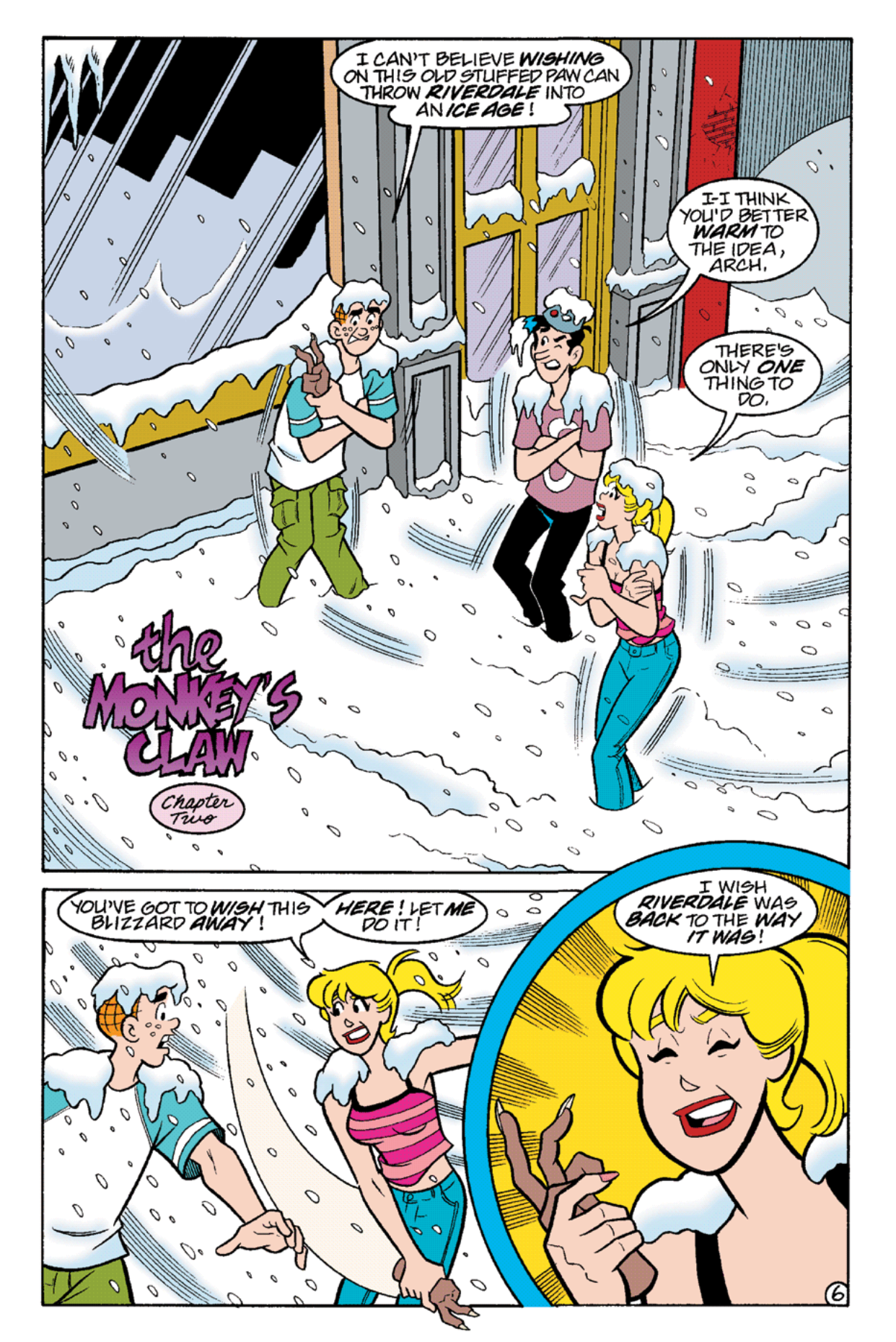 Read online Archie's Weird Mysteries comic -  Issue #21 - 19