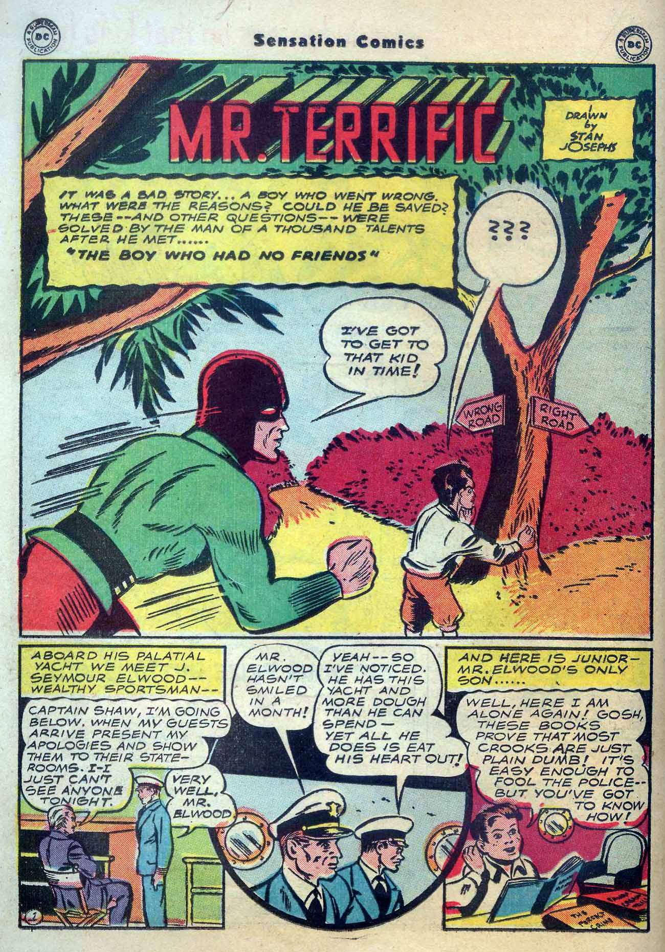 Read online Sensation (Mystery) Comics comic -  Issue #56 - 32