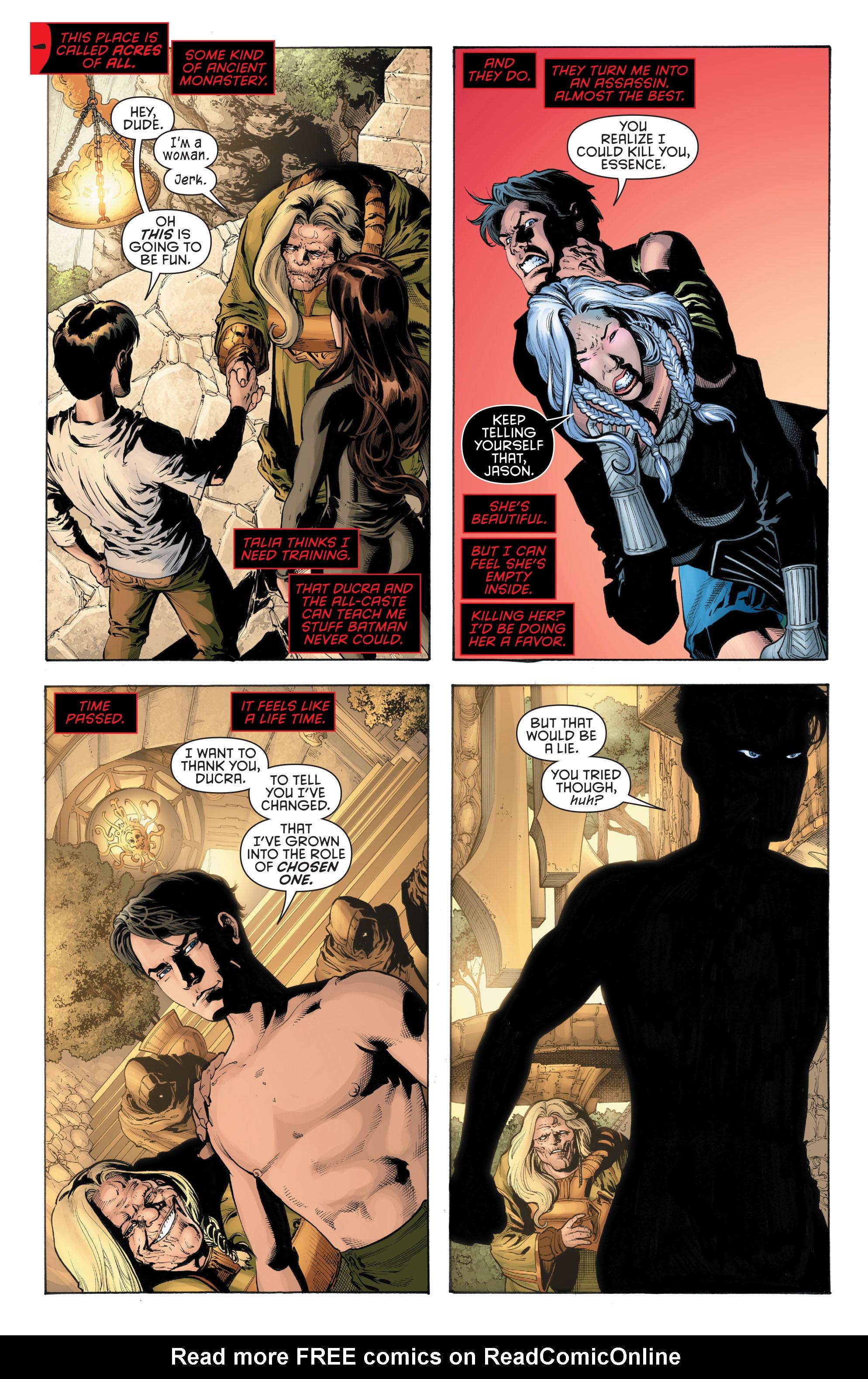 Read online Secret Origins (2014) comic -  Issue #5 - 22