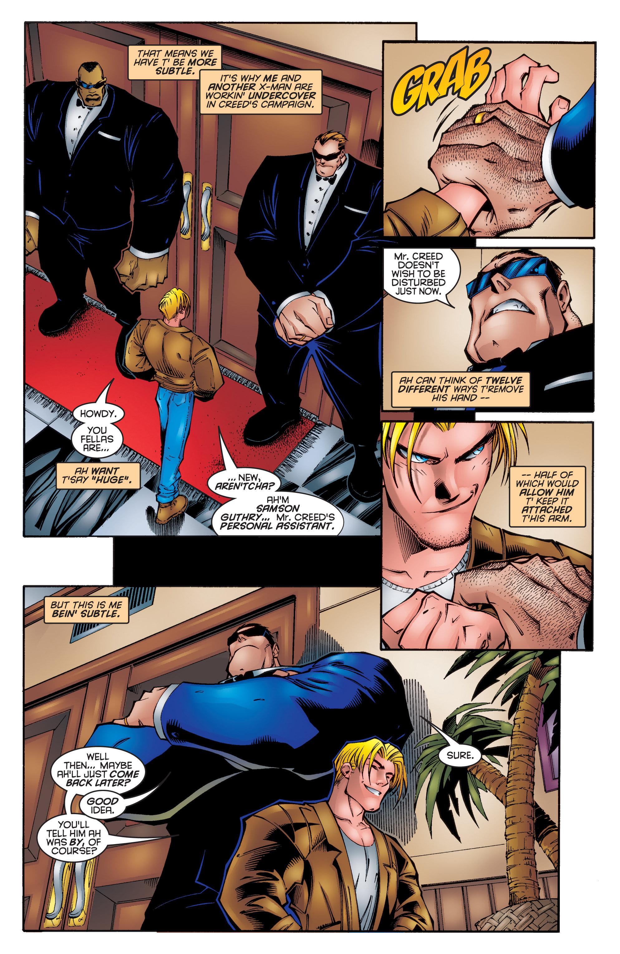 Read online Uncanny X-Men (1963) comic -  Issue #340 - 6