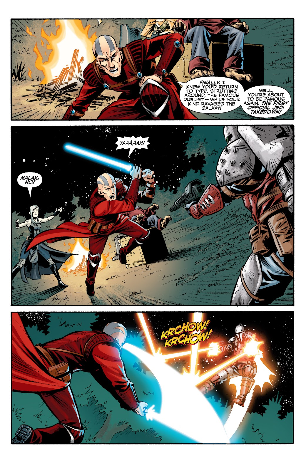Read online Star Wars Legends: The Old Republic - Epic Collection comic -  Issue # TPB 3 (Part 2) - 14