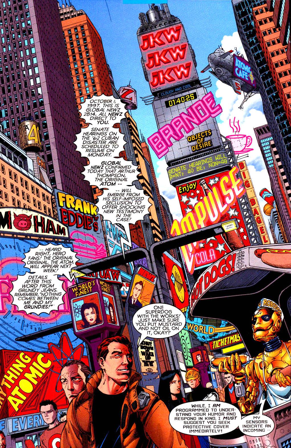 Read online Tangent Comics/ Doom Patrol comic -  Issue # Full - 14
