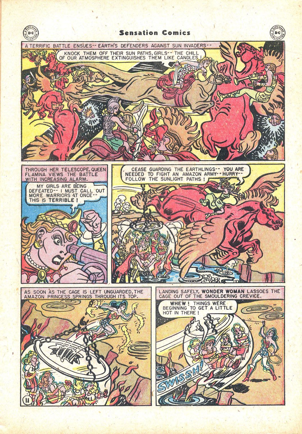 Read online Sensation (Mystery) Comics comic -  Issue #71 - 13