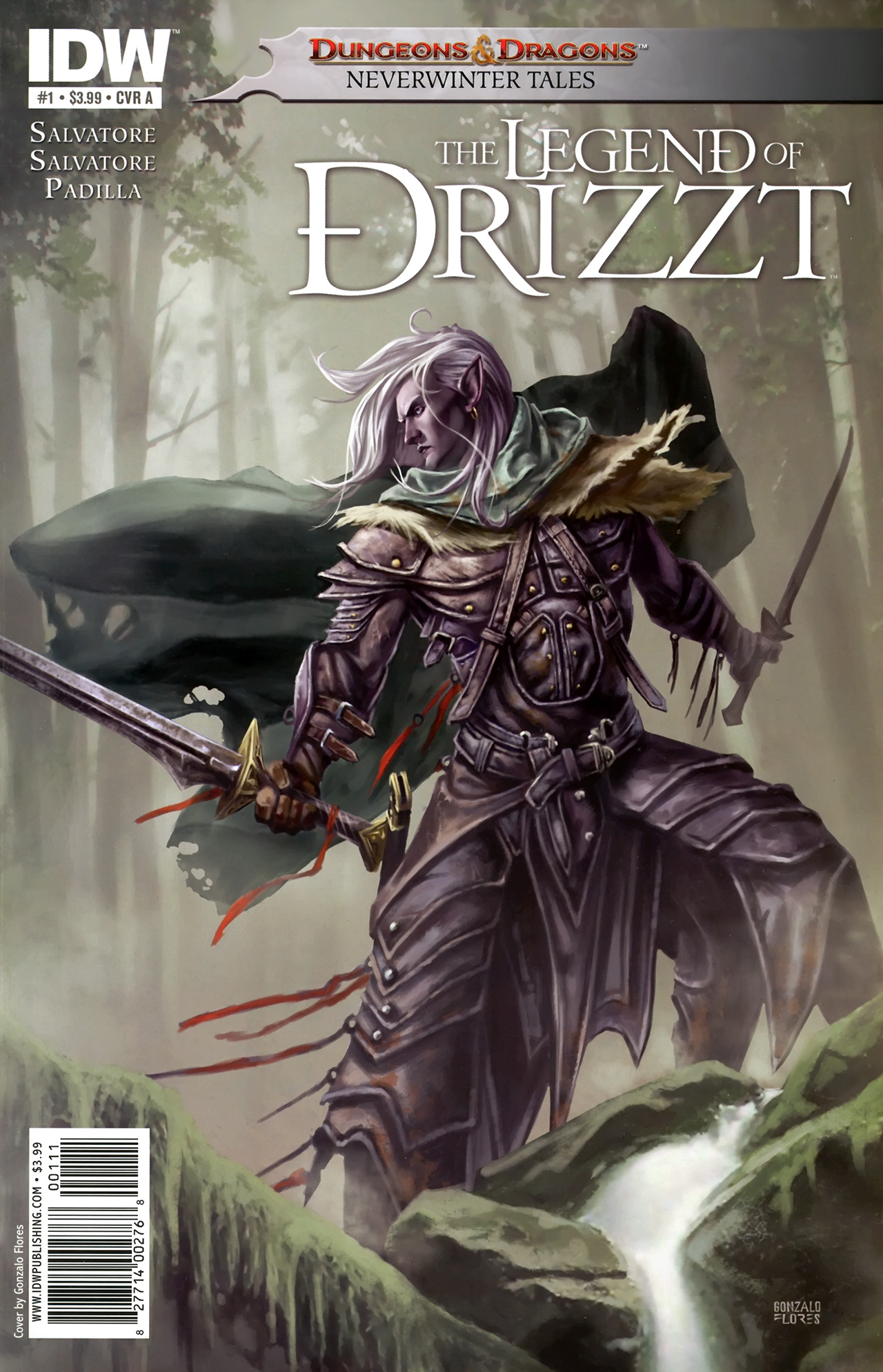 Dungeons & Dragons: The Legend of Drizzt: Neverwinter Tales 1 Page 1