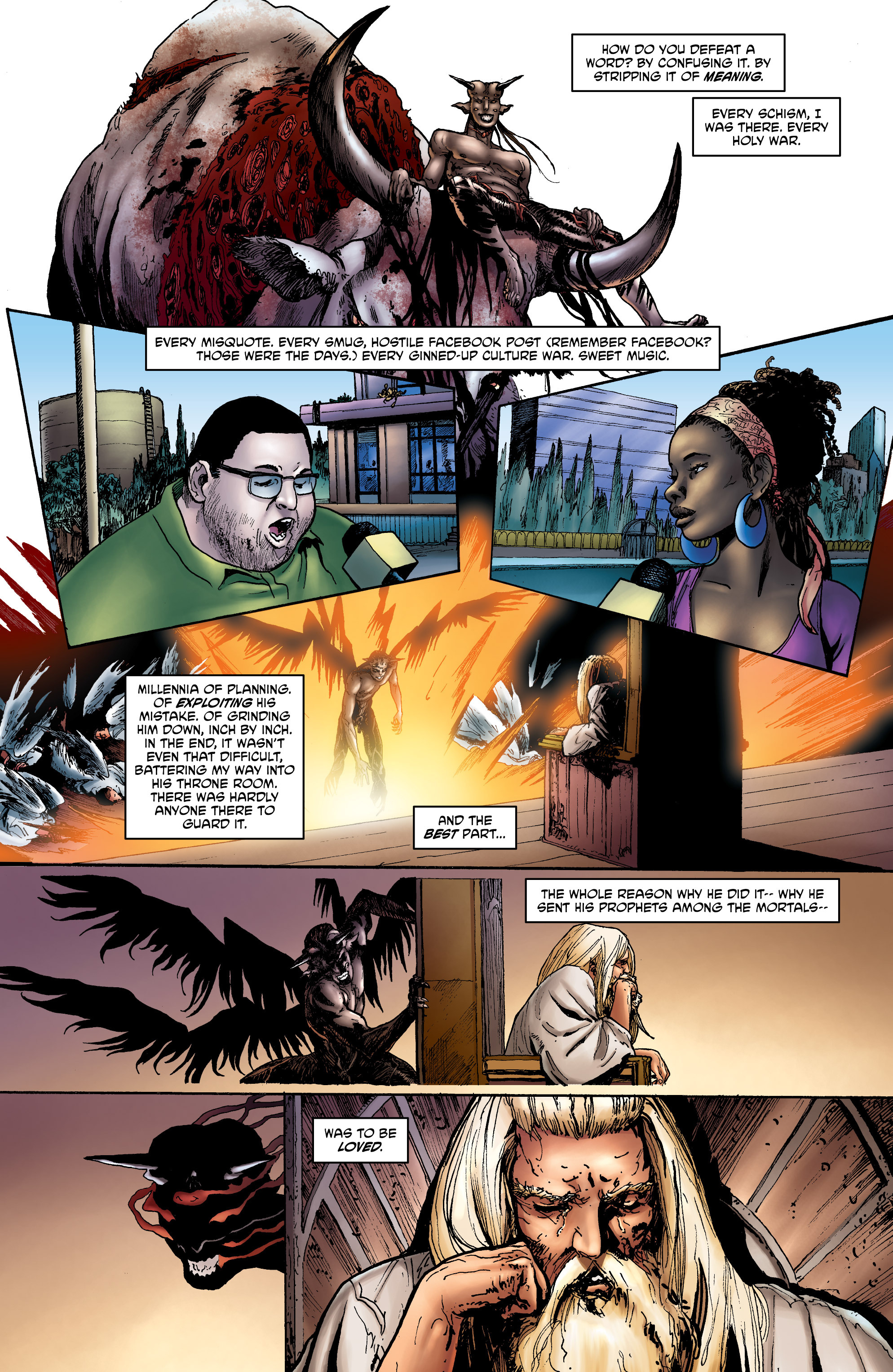 Read online God is Dead: Book of Acts comic -  Issue # Omega - 17
