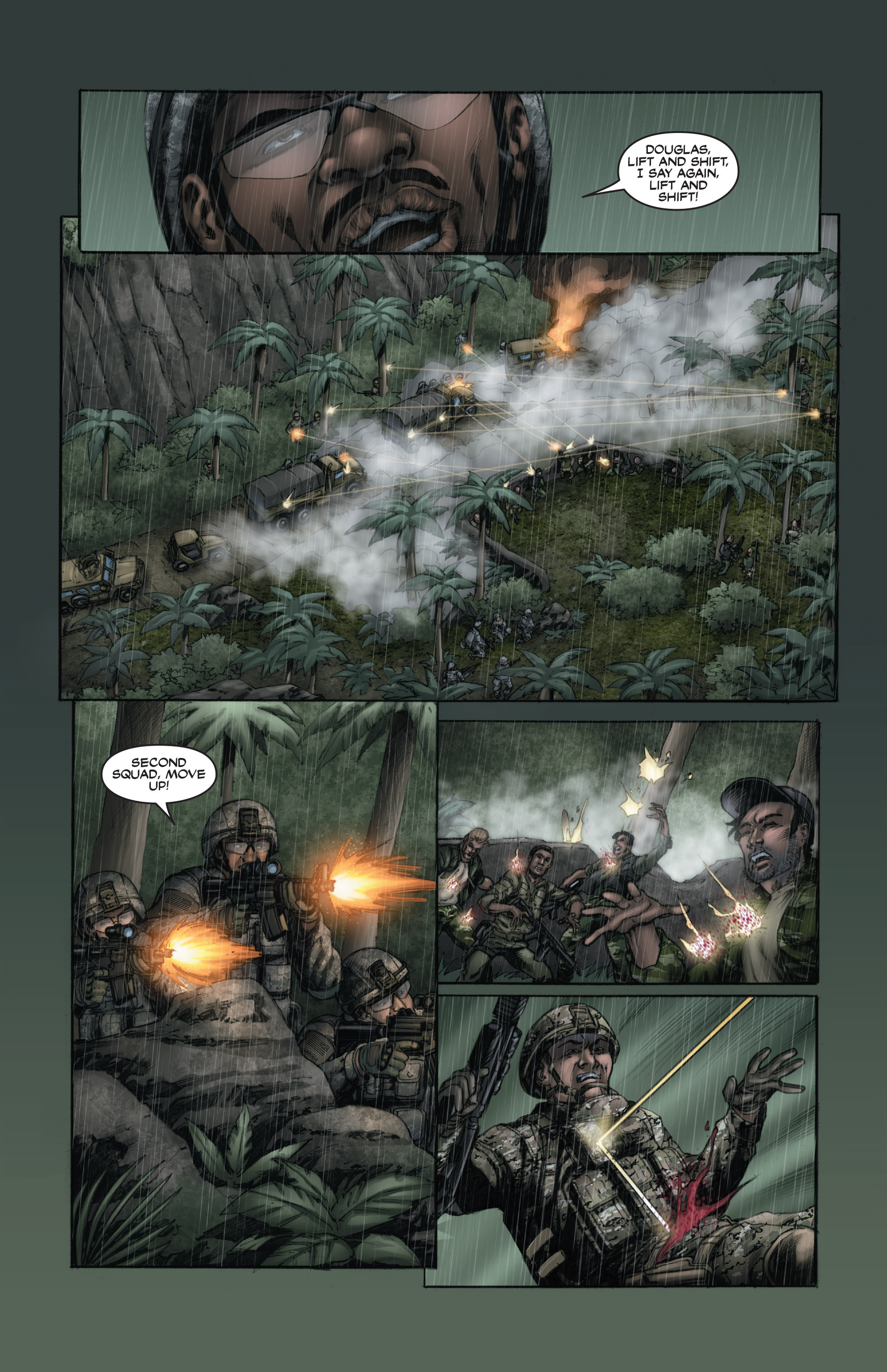 Read online America's Army comic -  Issue #15 - 19