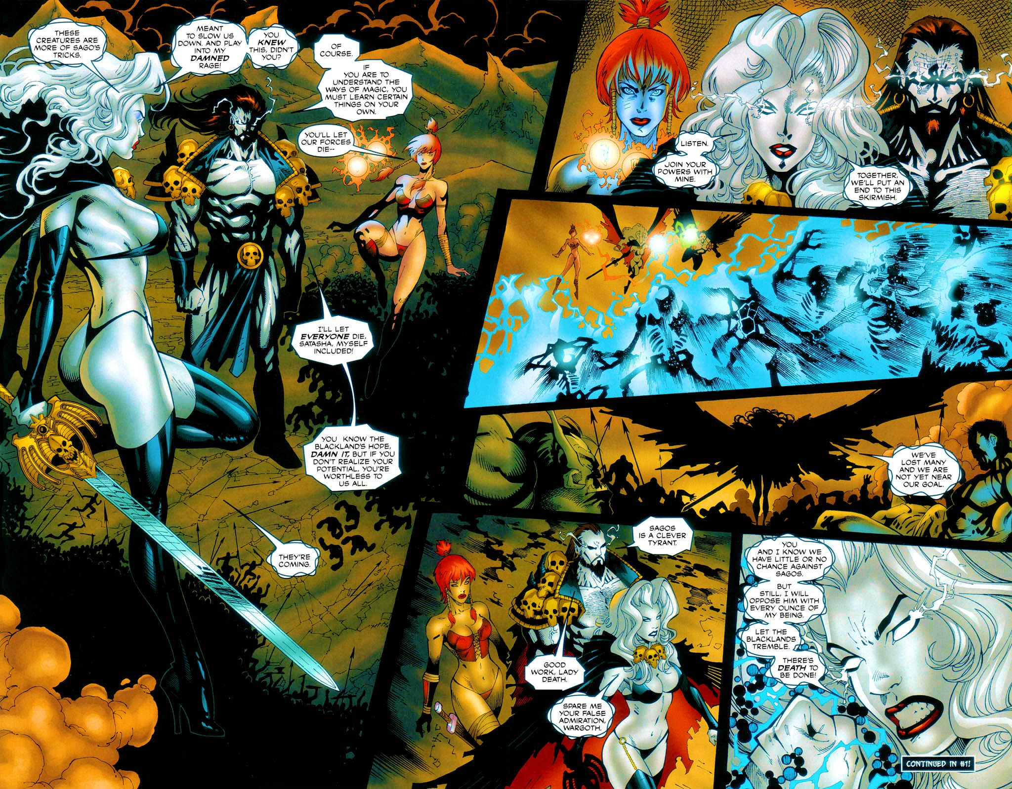 Brian Pulido s Lady Death Abandon All Hope Issue 0