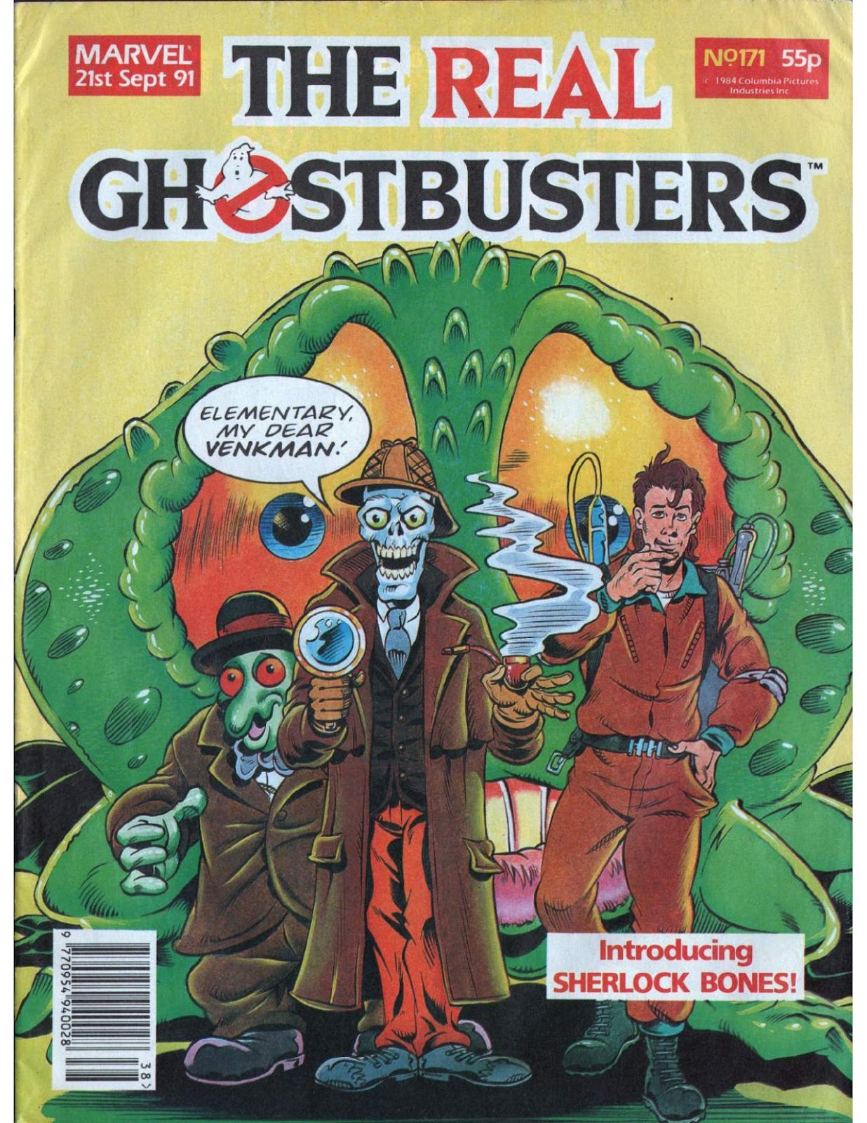 The Real Ghostbusters 171 Page 1