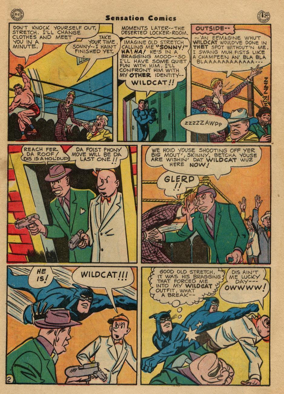 Read online Sensation (Mystery) Comics comic -  Issue #49 - 43