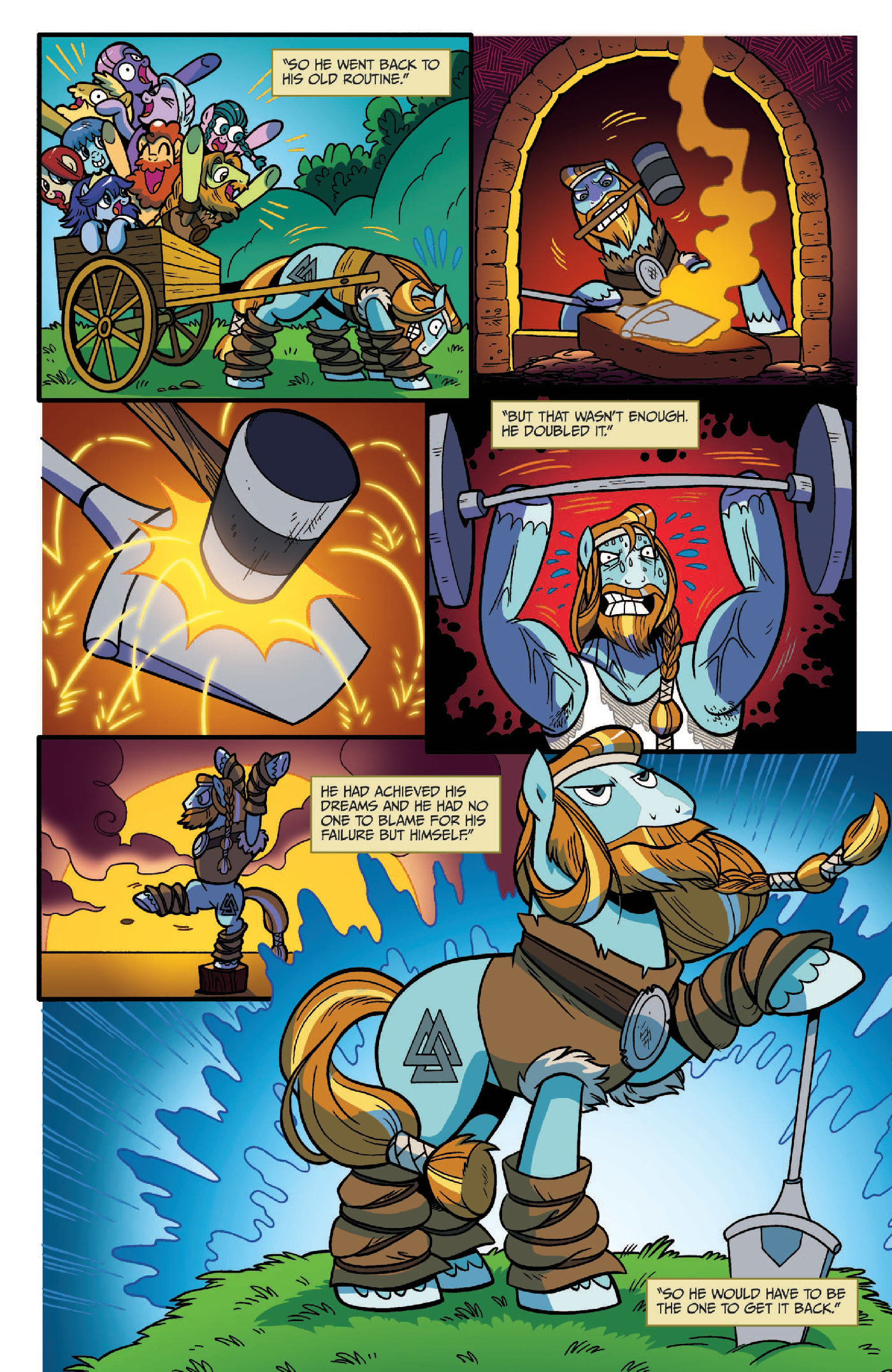 Read online My Little Pony: Legends of Magic comic -  Issue #2 - 19
