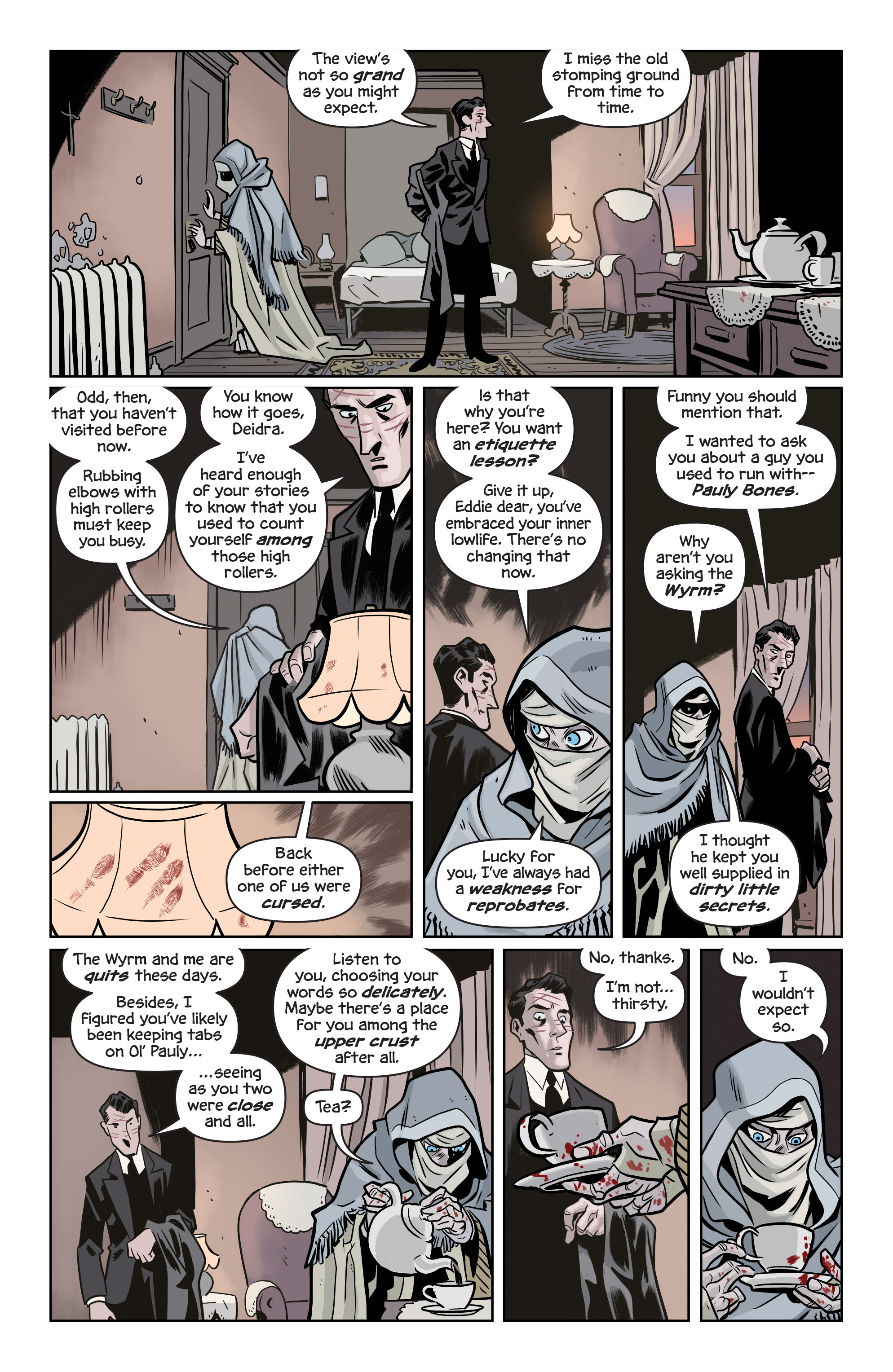 Read online The Damned comic -  Issue #1 - 18