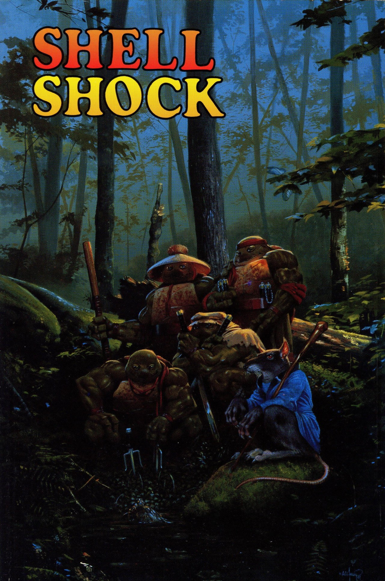 Read online Shell Shock comic -  Issue # Full - 1