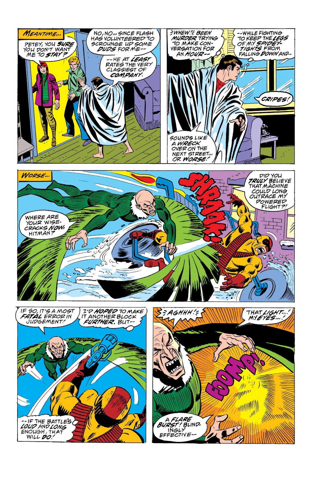 Read online Marvel Masterworks: The Spectacular Spider-Man comic -  Issue # TPB (Part 1) - 91