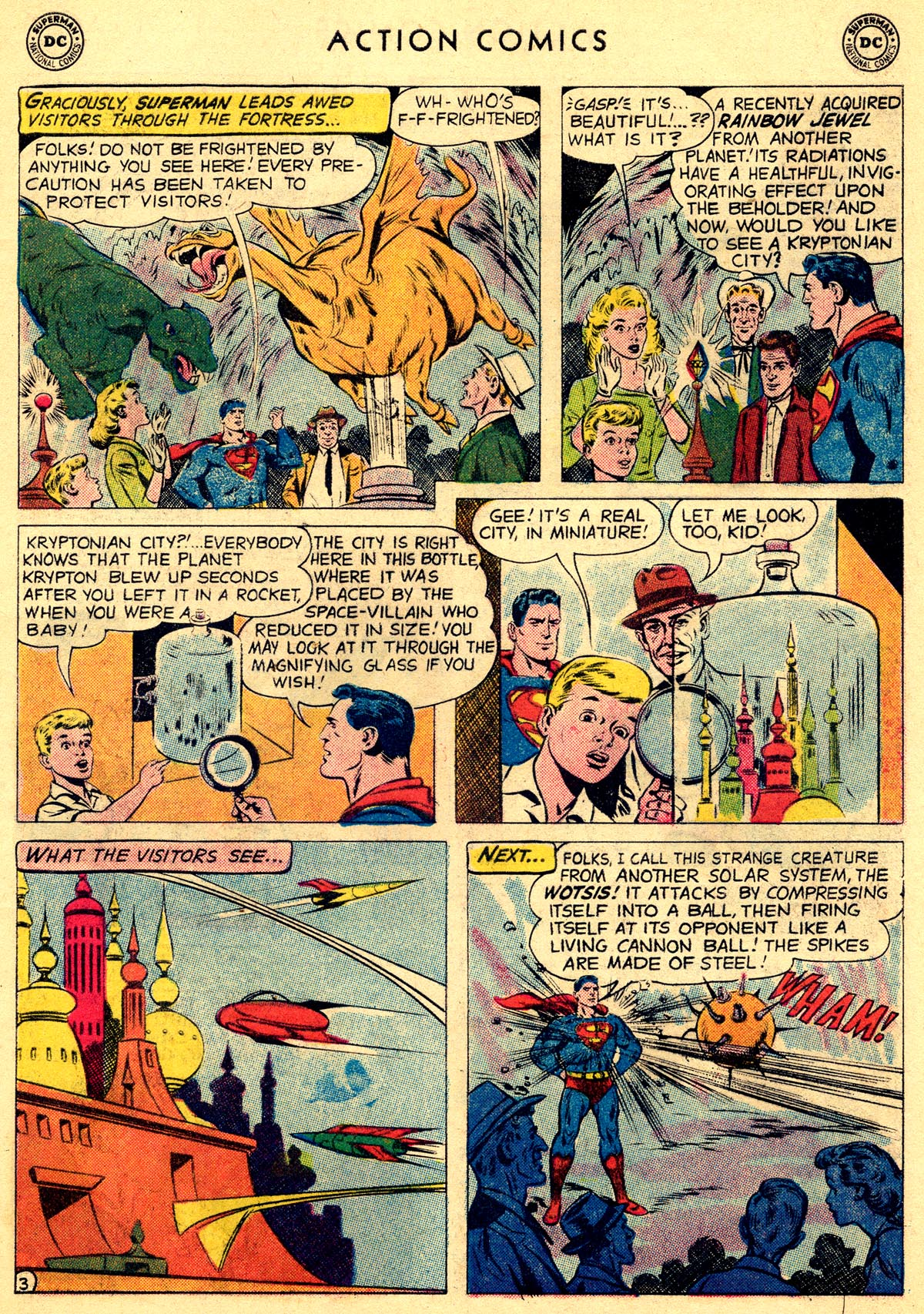 Read online Action Comics (1938) comic -  Issue #261 - 5