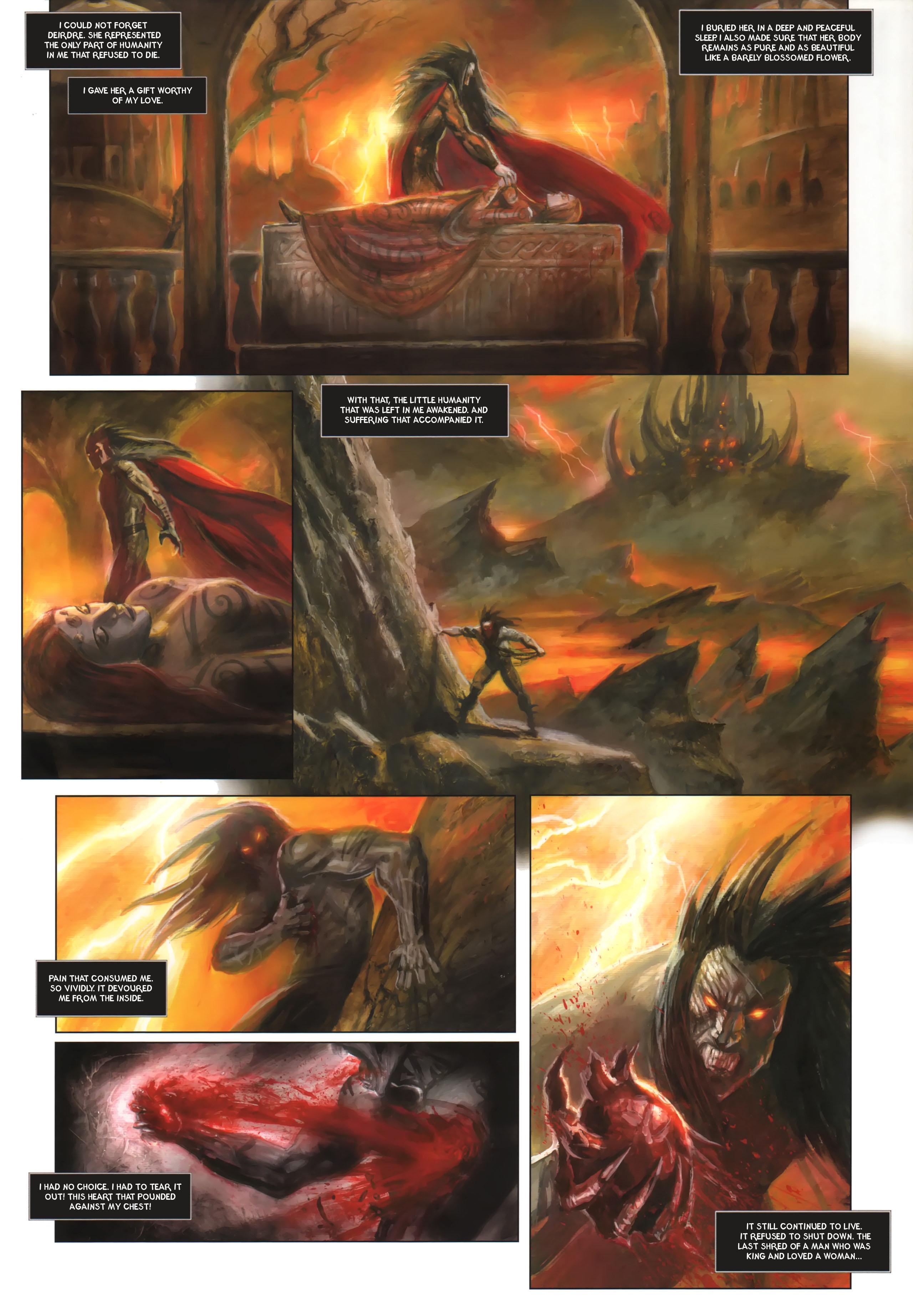 Read online Arawn comic -  Issue #6 - 38