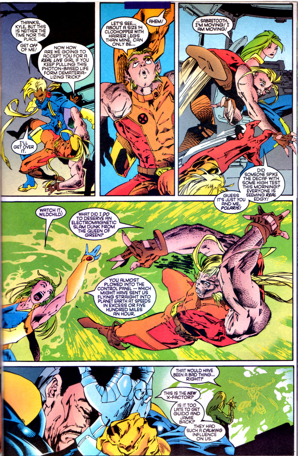 Read online X-Factor (1986) comic -  Issue #134 - 7