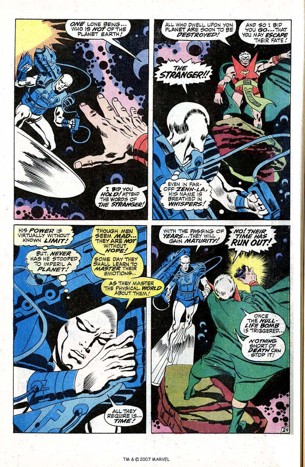 Read online Silver Surfer (1968) comic -  Issue #5 - 30