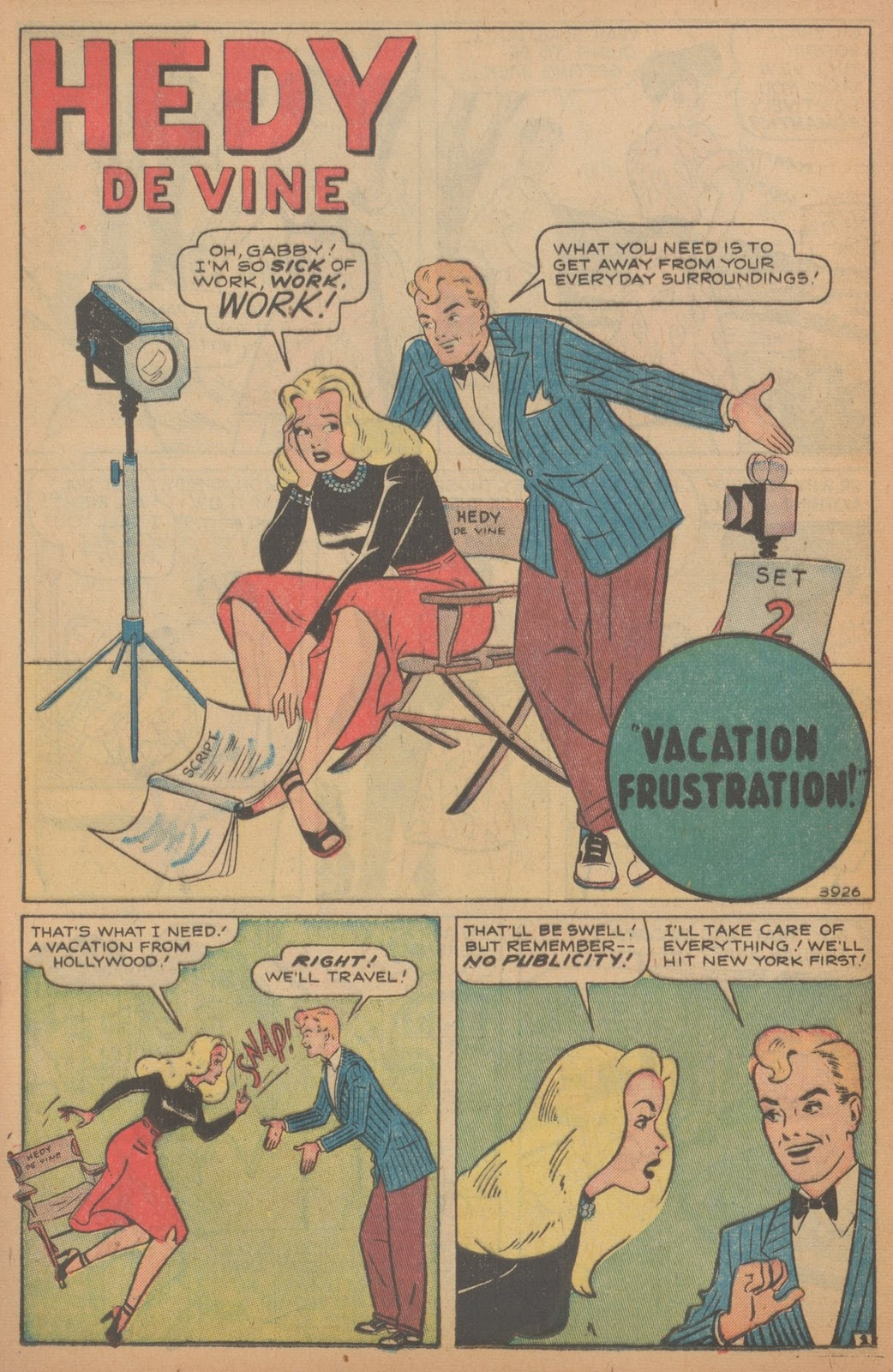 Read online Nellie The Nurse (1945) comic -  Issue #18 - 16