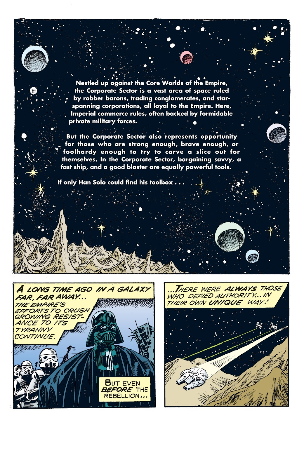Read online Star Wars Legends: The Newspaper Strips - Epic Collection comic -  Issue # TPB (Part 4) - 8