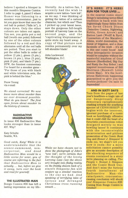 Read online Simpsons Comics comic -  Issue #38 - 27