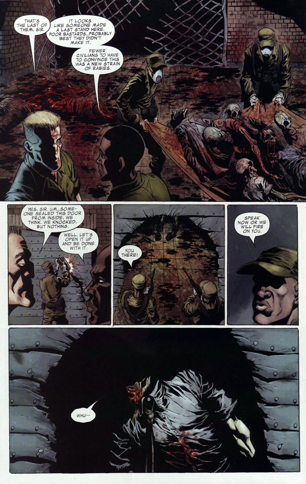 Read online Zombie (2006) comic -  Issue #4 - 21