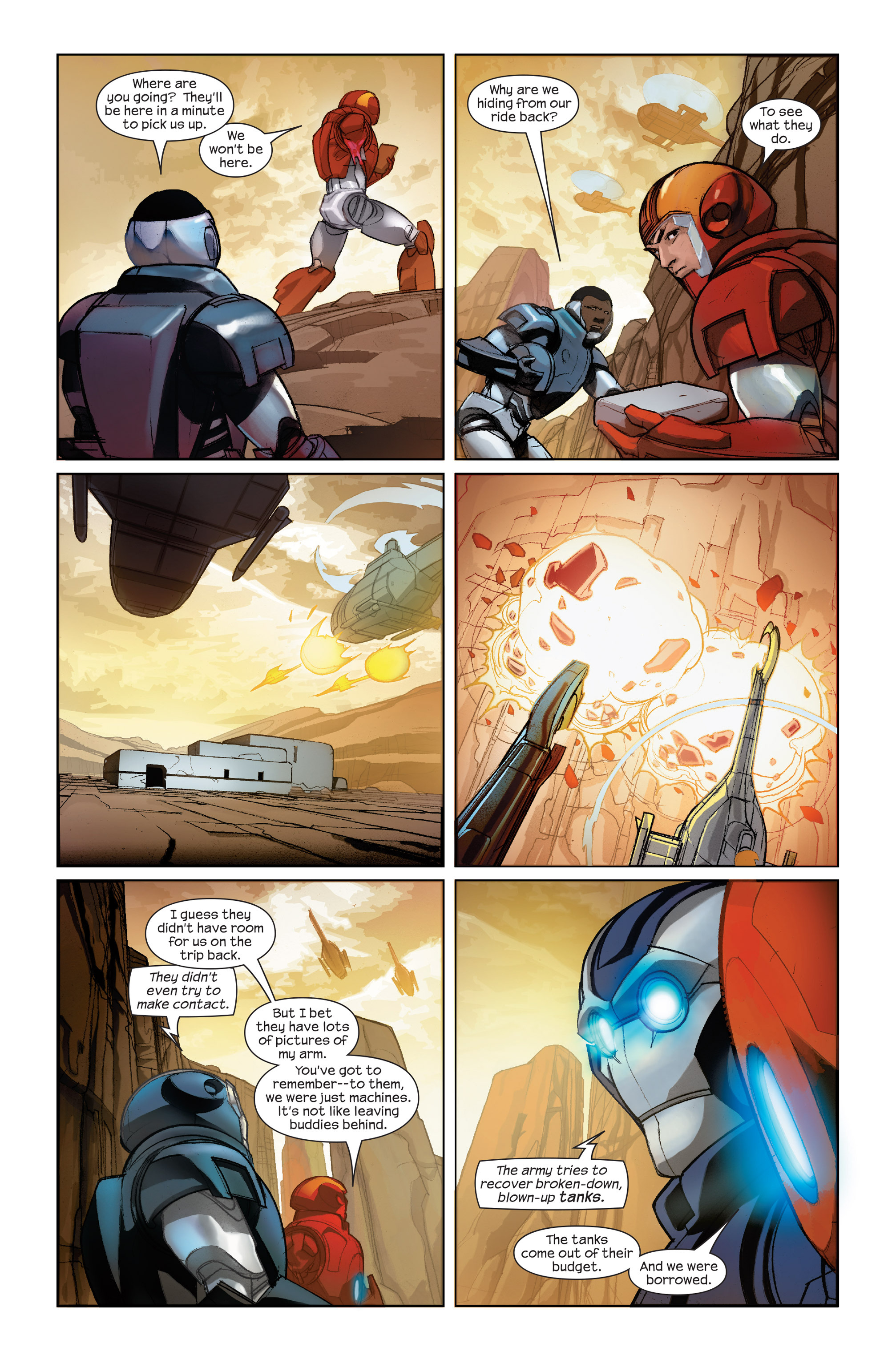 Read online Ultimate Iron Man II comic -  Issue #2 - 8