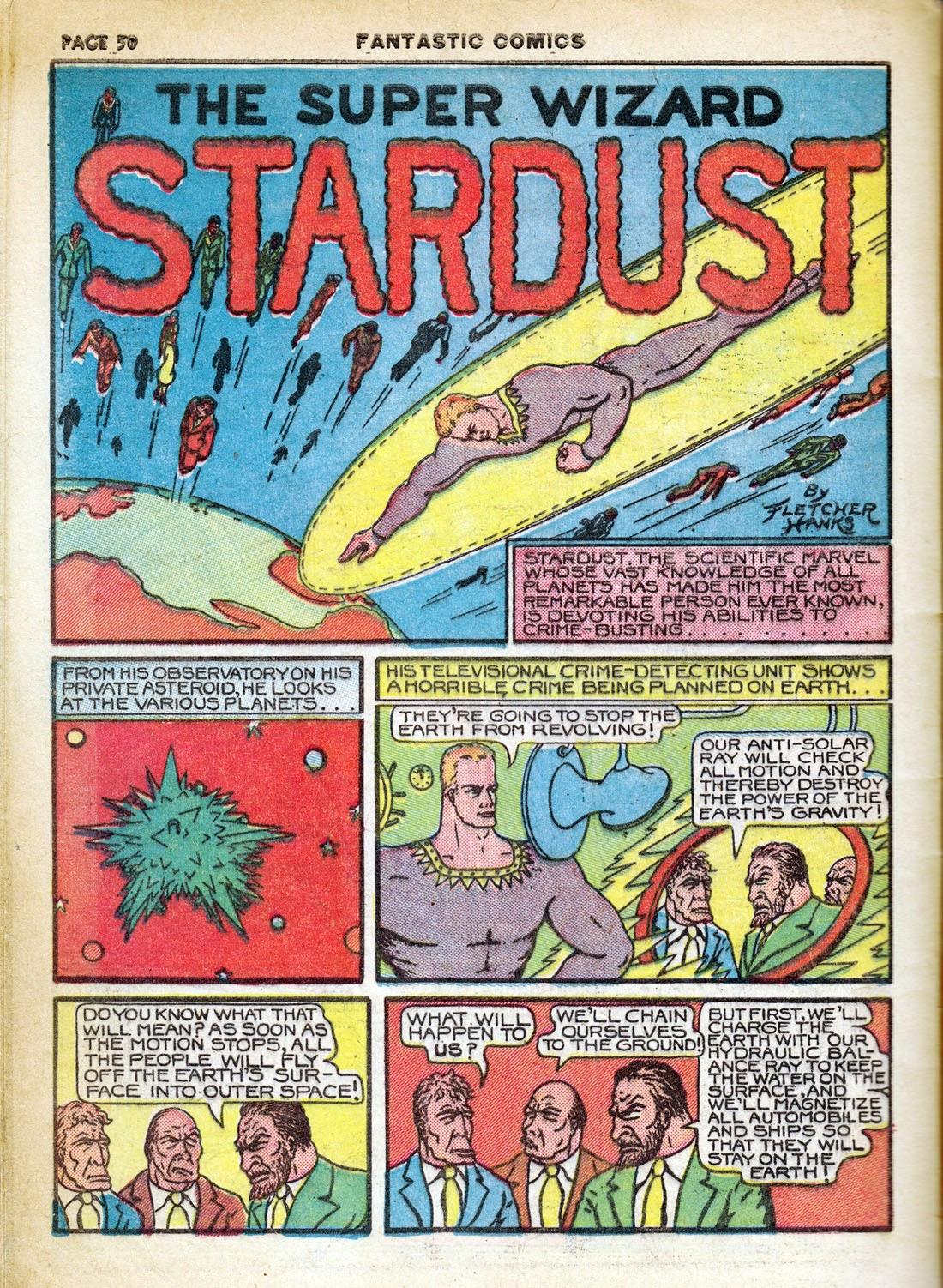 Read online Fantastic Comics comic -  Issue #7 - 52