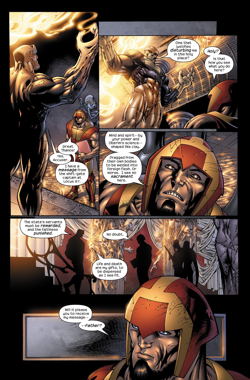 Read online Ultimate Fantastic Four (2004) comic -  Issue #50 - 4