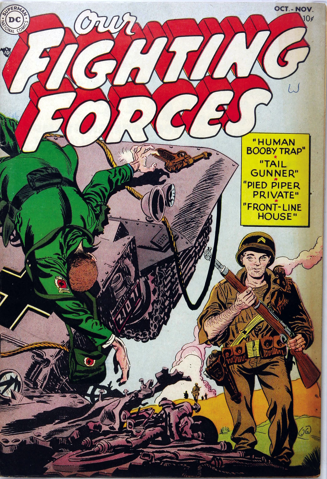 Our Fighting Forces (1954) issue 1 - Page 1