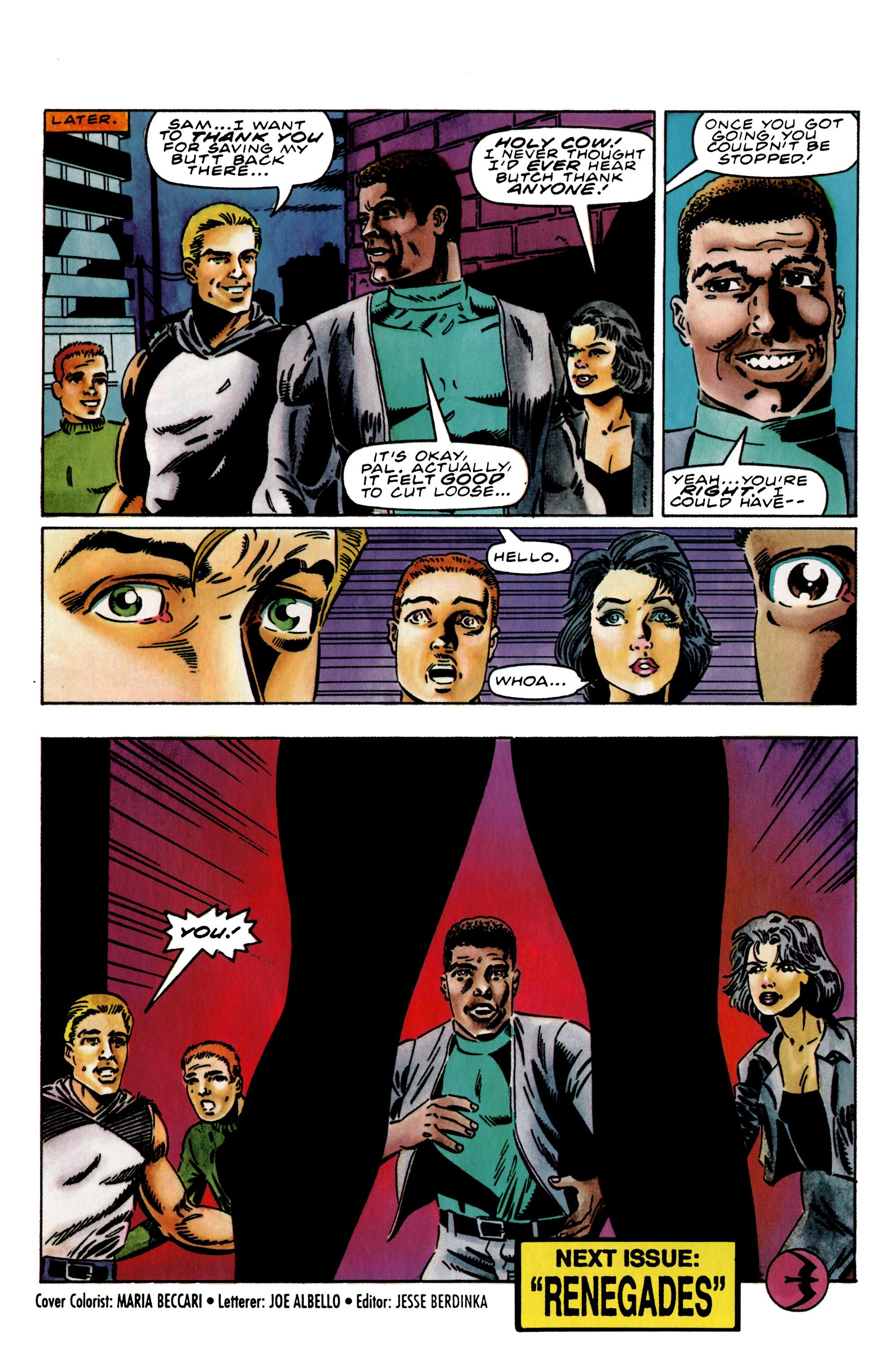 Read online Harbinger (1992) comic -  Issue #38 - 22