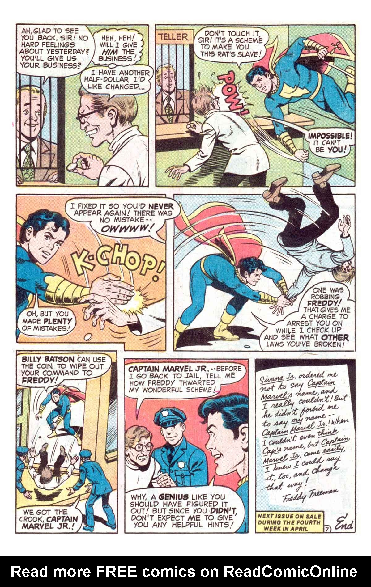 Read online Shazam! (1973) comic -  Issue #18 - 20