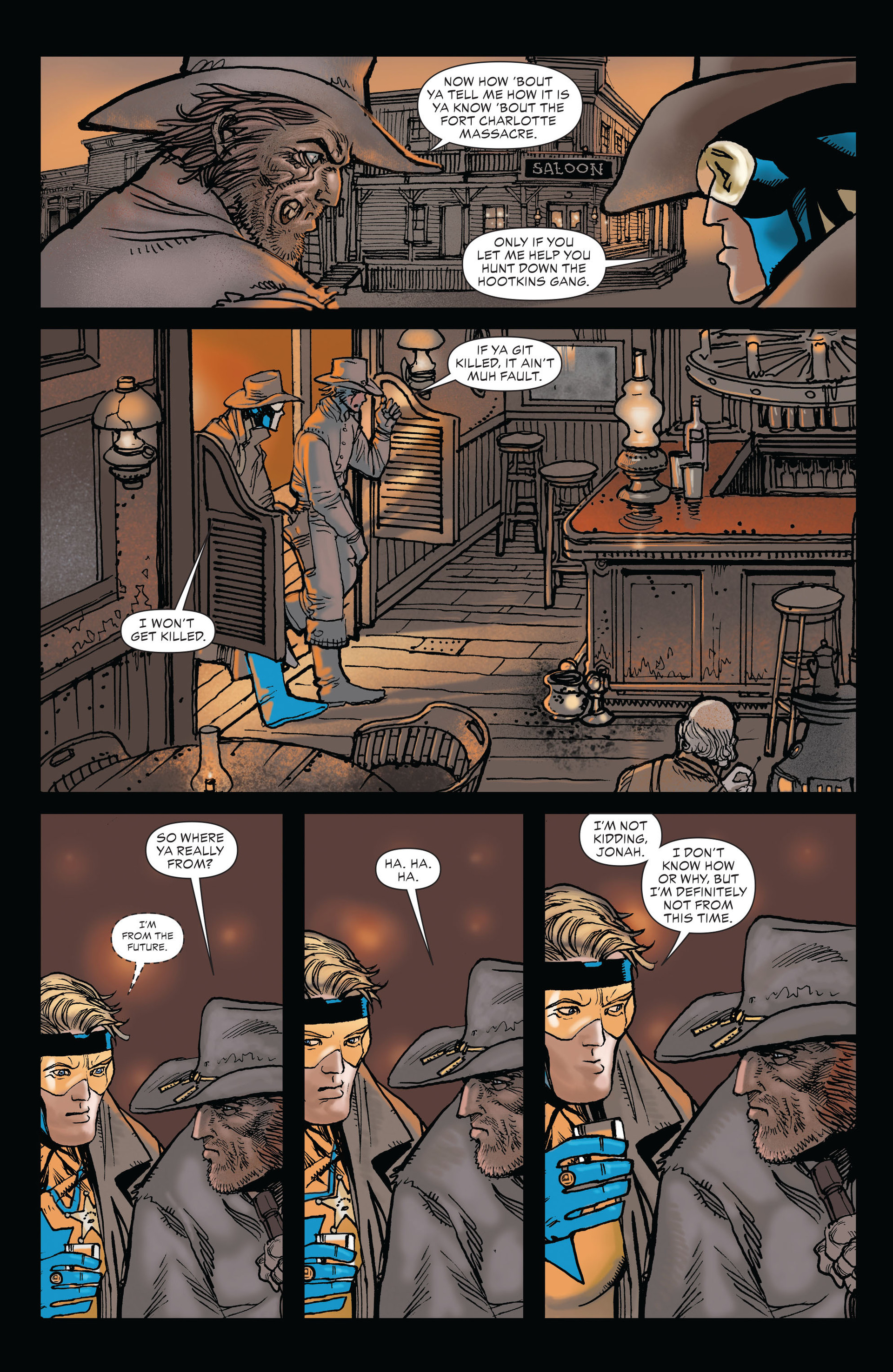 Read online All-Star Western (2011) comic -  Issue #19 - 14