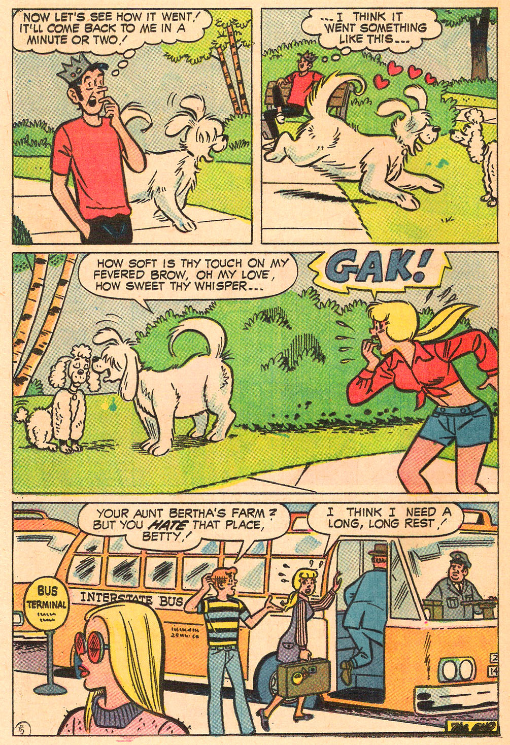 Read online Archie's Girls Betty and Veronica comic -  Issue #165 - 24