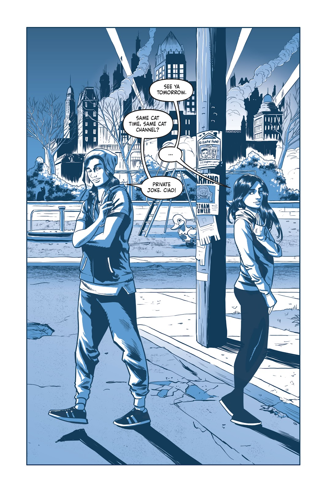 Read online Under the Moon: A Catwoman Tale comic -  Issue # TPB (Part 1) - 91