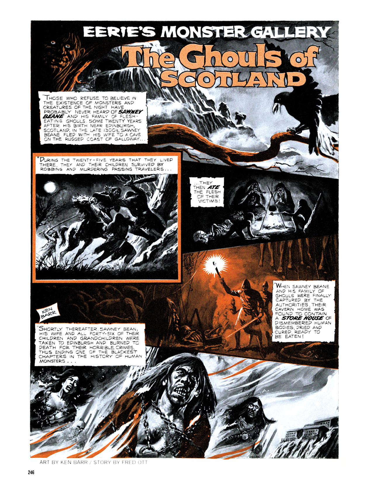Read online Eerie Archives comic -  Issue # TPB 8 - 247