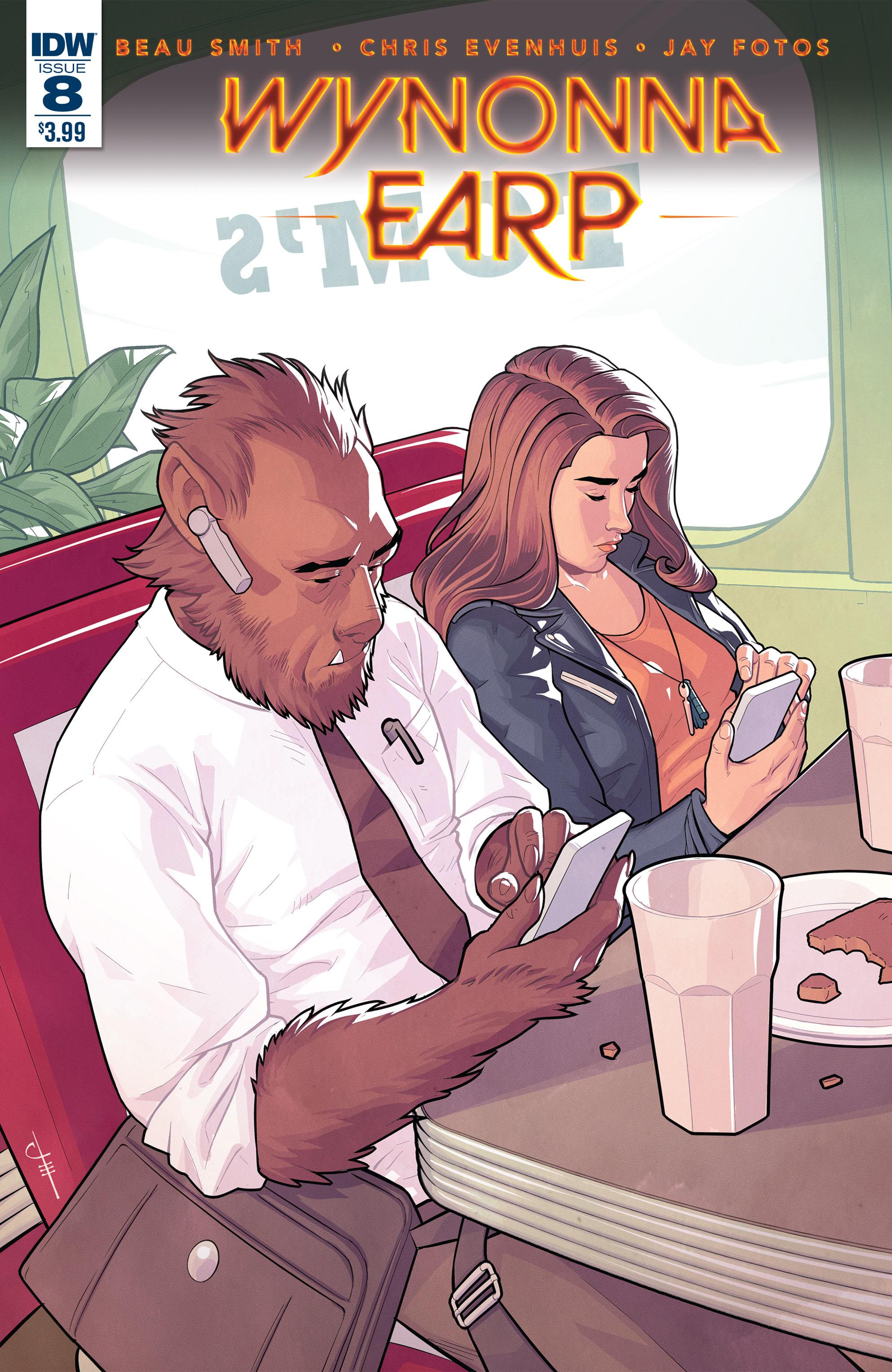 Read online Wynonna Earp (2016) comic -  Issue #8 - 1