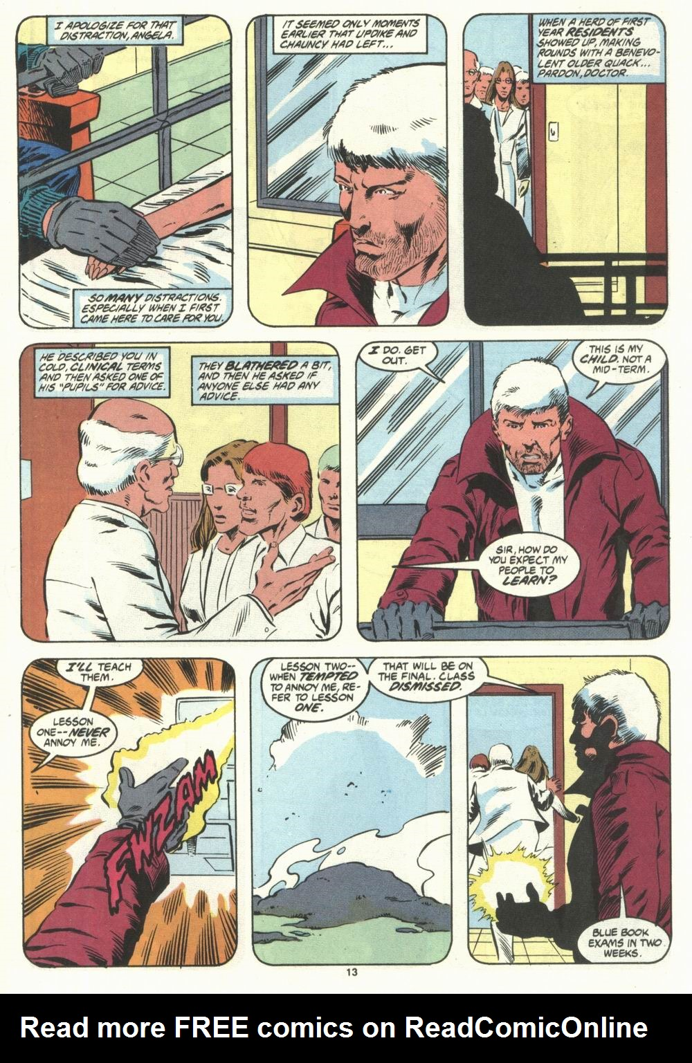 Read online Justice (1986) comic -  Issue #28 - 15