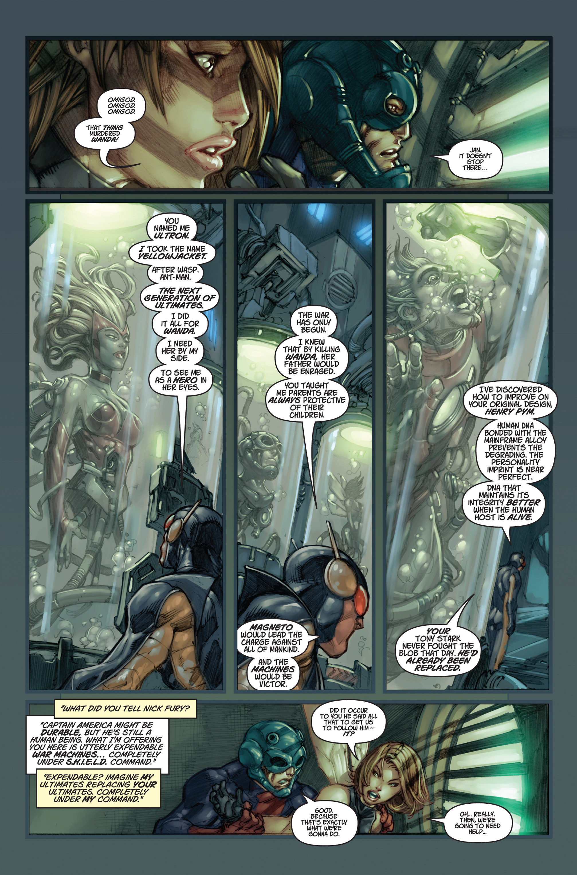 Read online Ultimates 3 comic -  Issue #5 - 7
