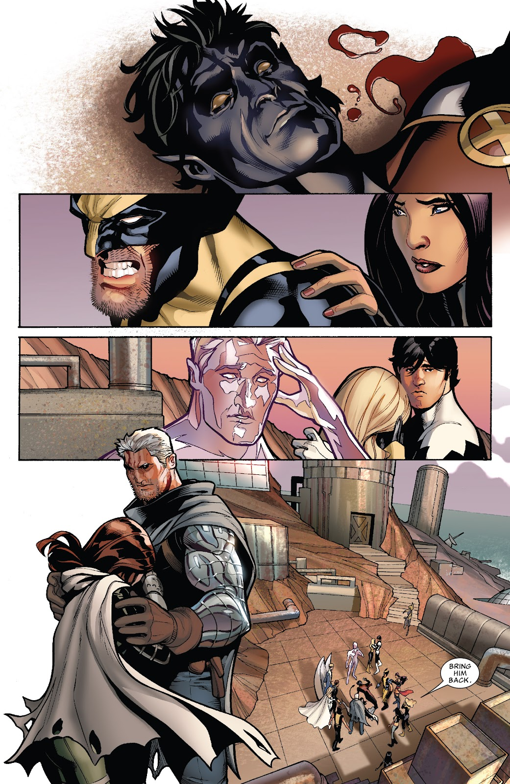 Read online X-Men: Second Coming comic -  Issue # _TPB (Part 2) - 41
