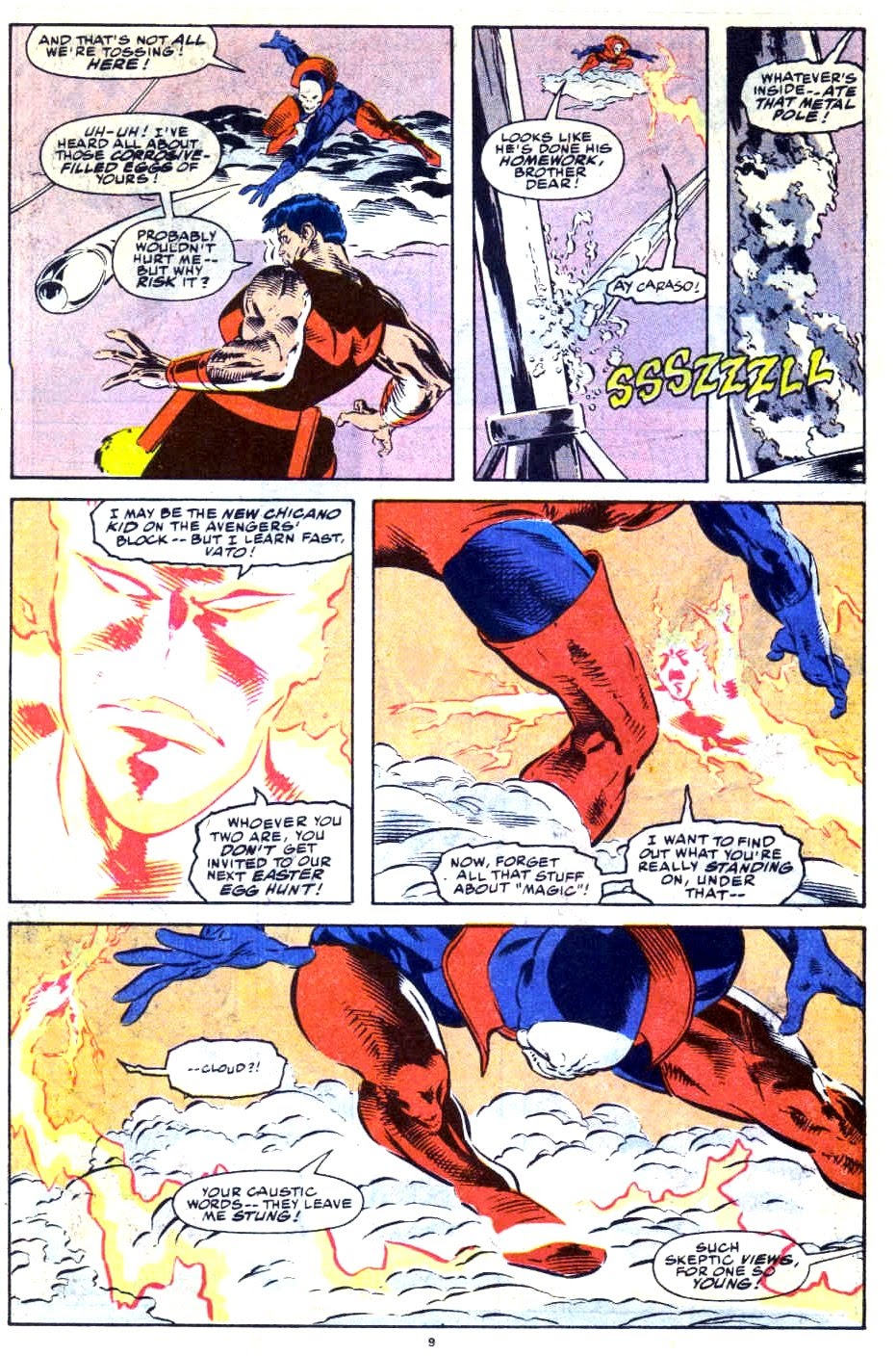 Avengers West Coast (1989) issue 76 - Page 8
