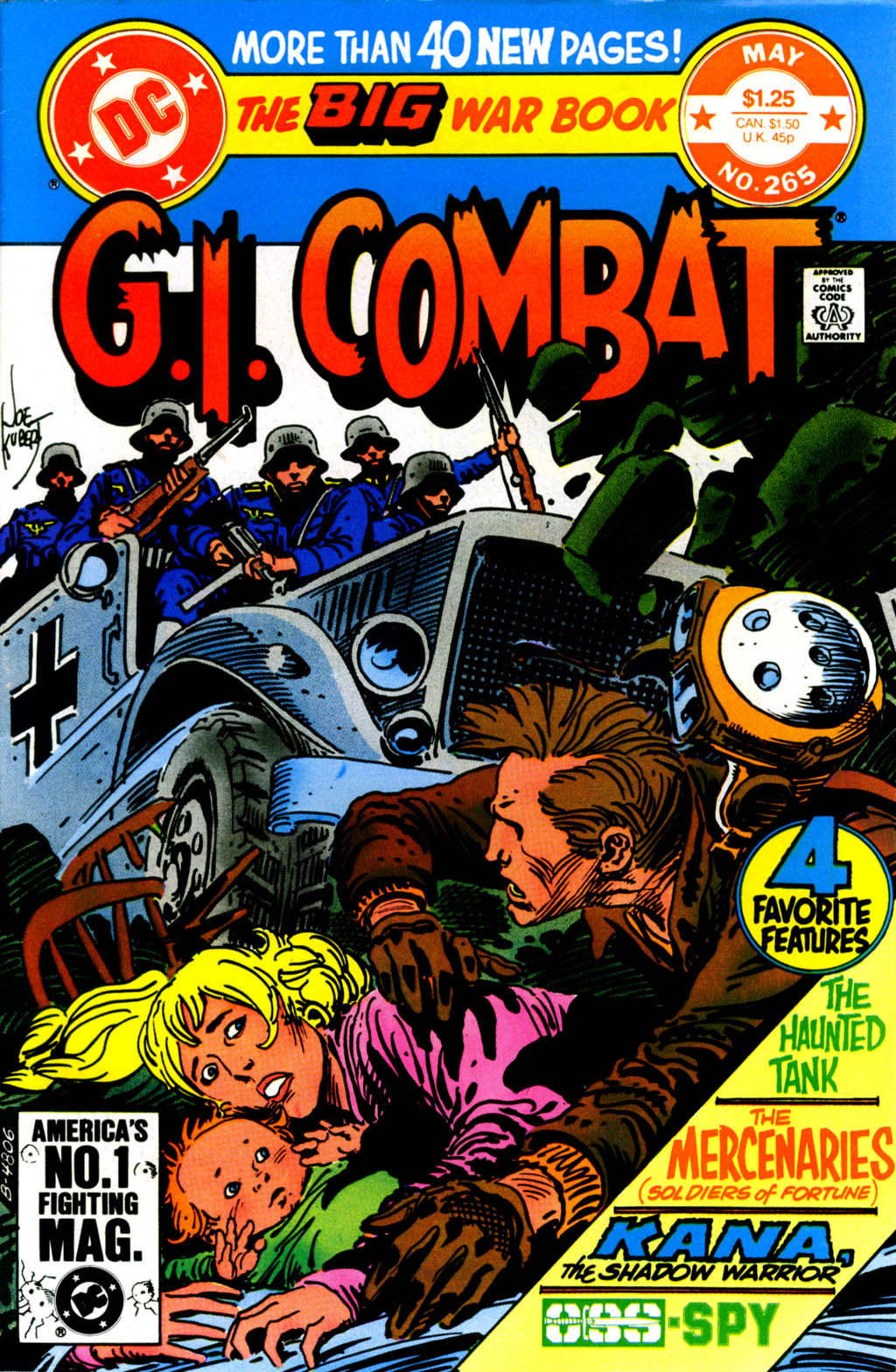 G.I. Combat (1952) issue 265 - Page 1