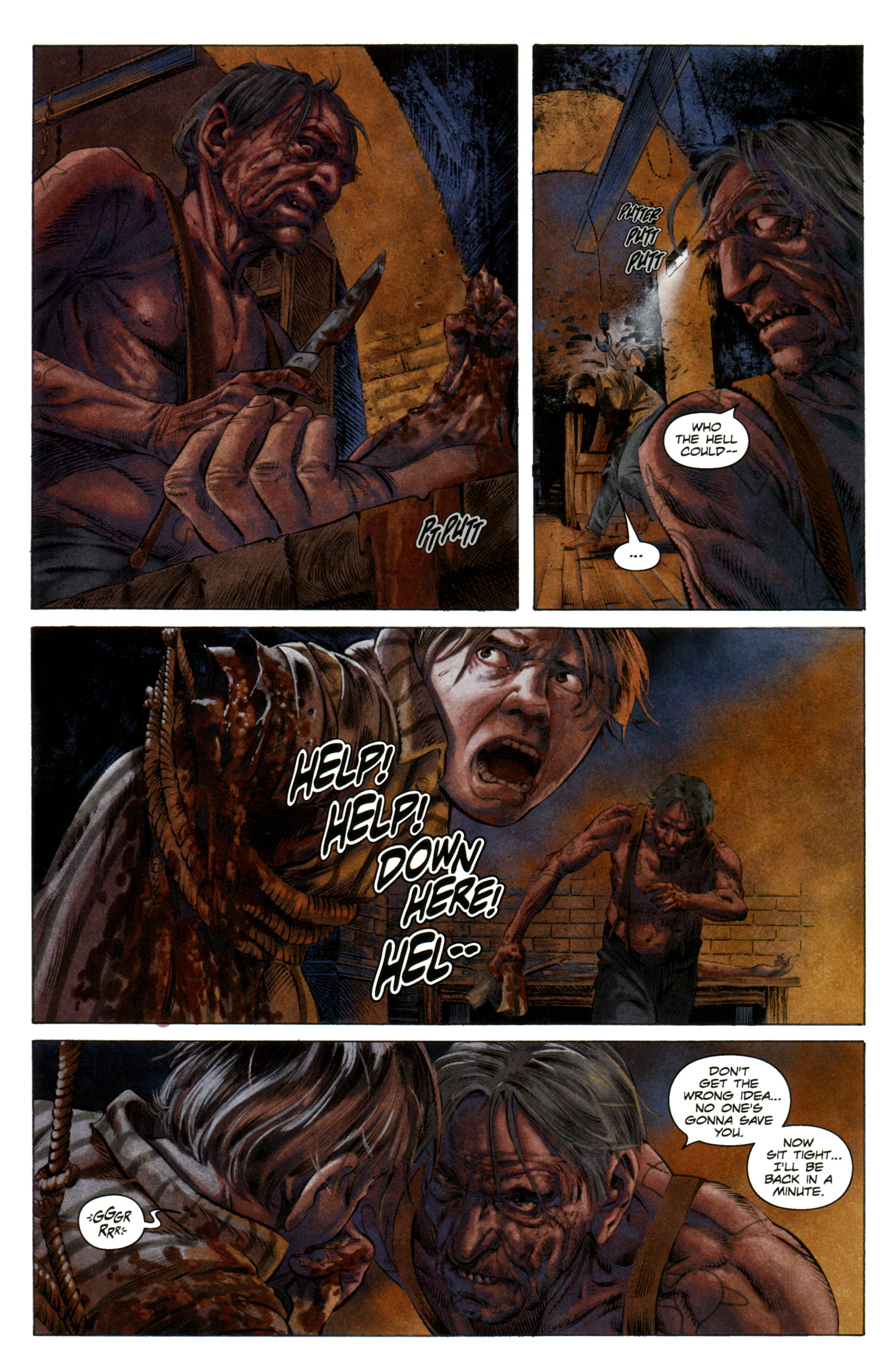 Read online Severed comic -  Issue #7 - 10