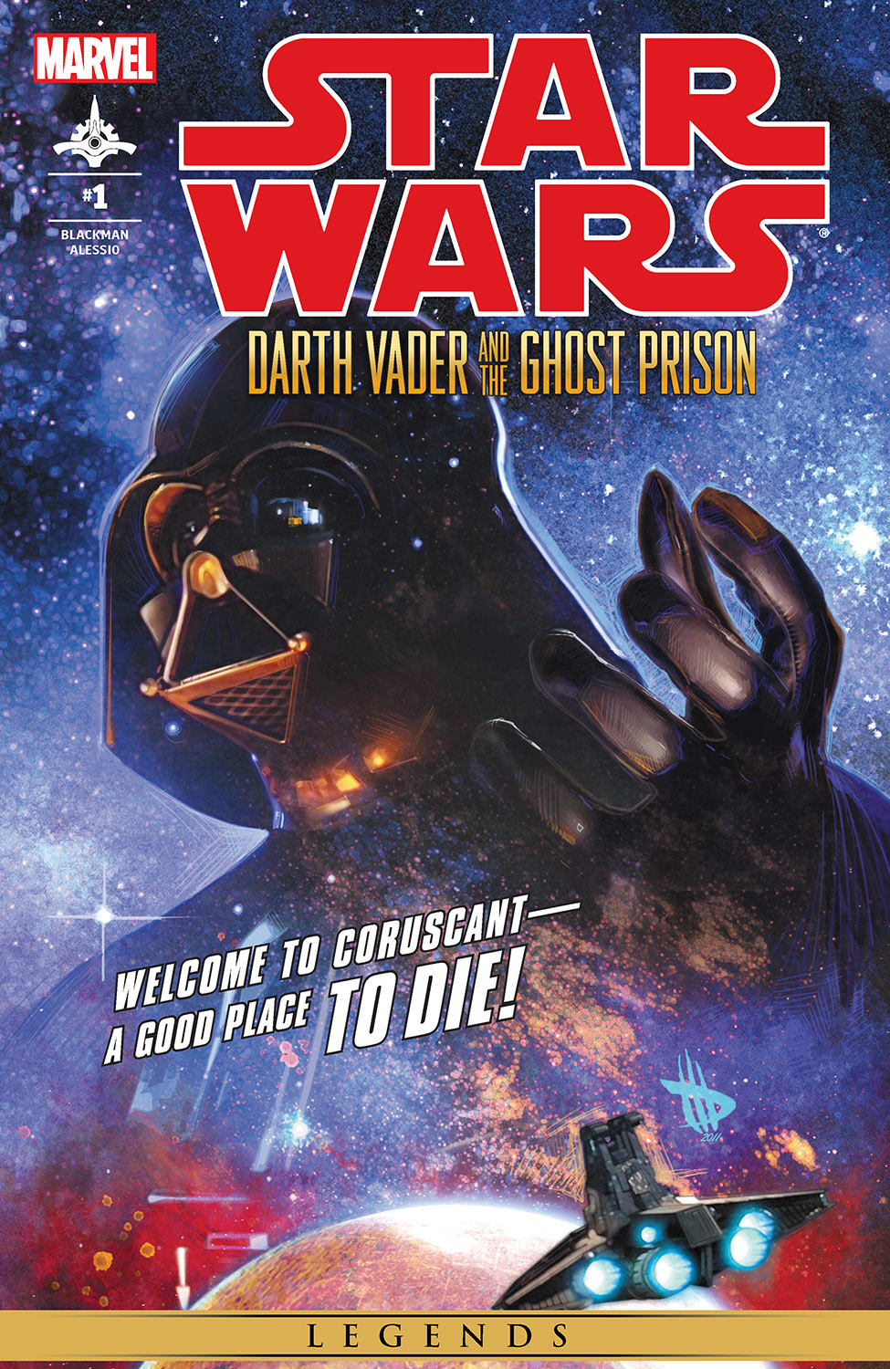 Star Wars: Darth Vader and the Ghost Prison 1 Page 1