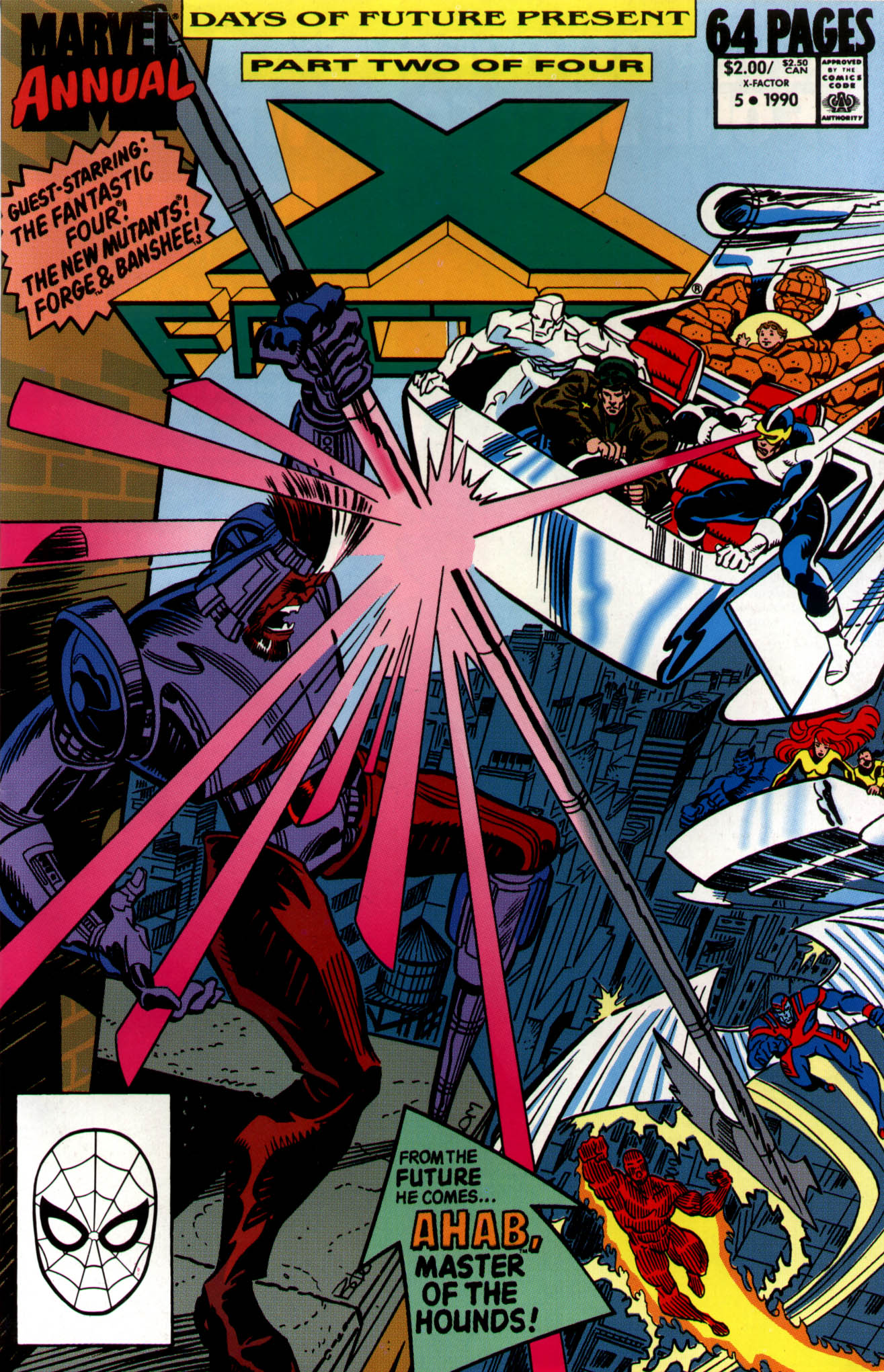 Read online X-Factor (1986) comic -  Issue # _ Annual 5 - 1