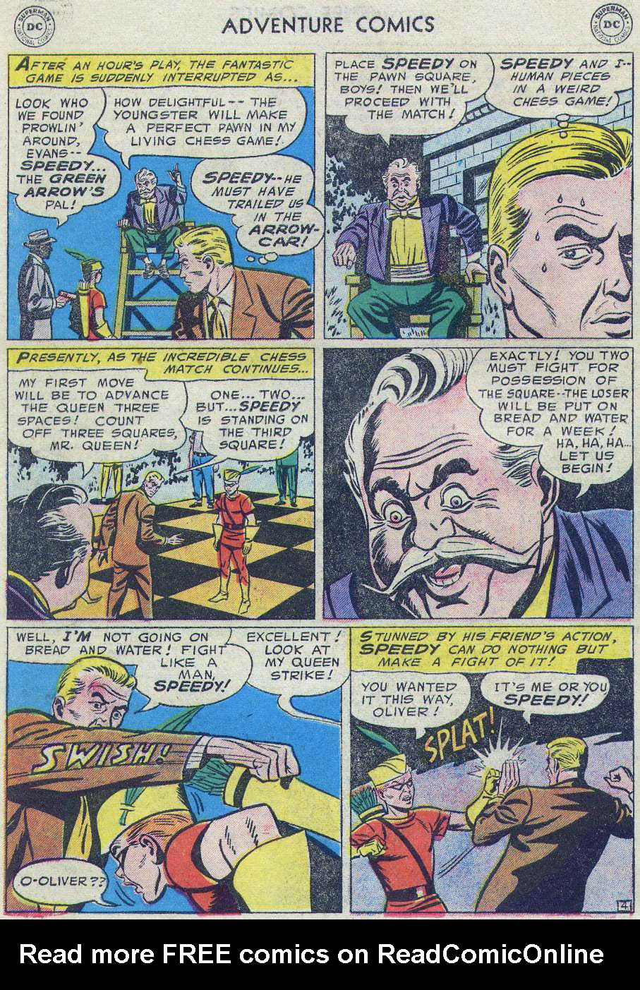 Read online Adventure Comics (1938) comic -  Issue #219 - 64
