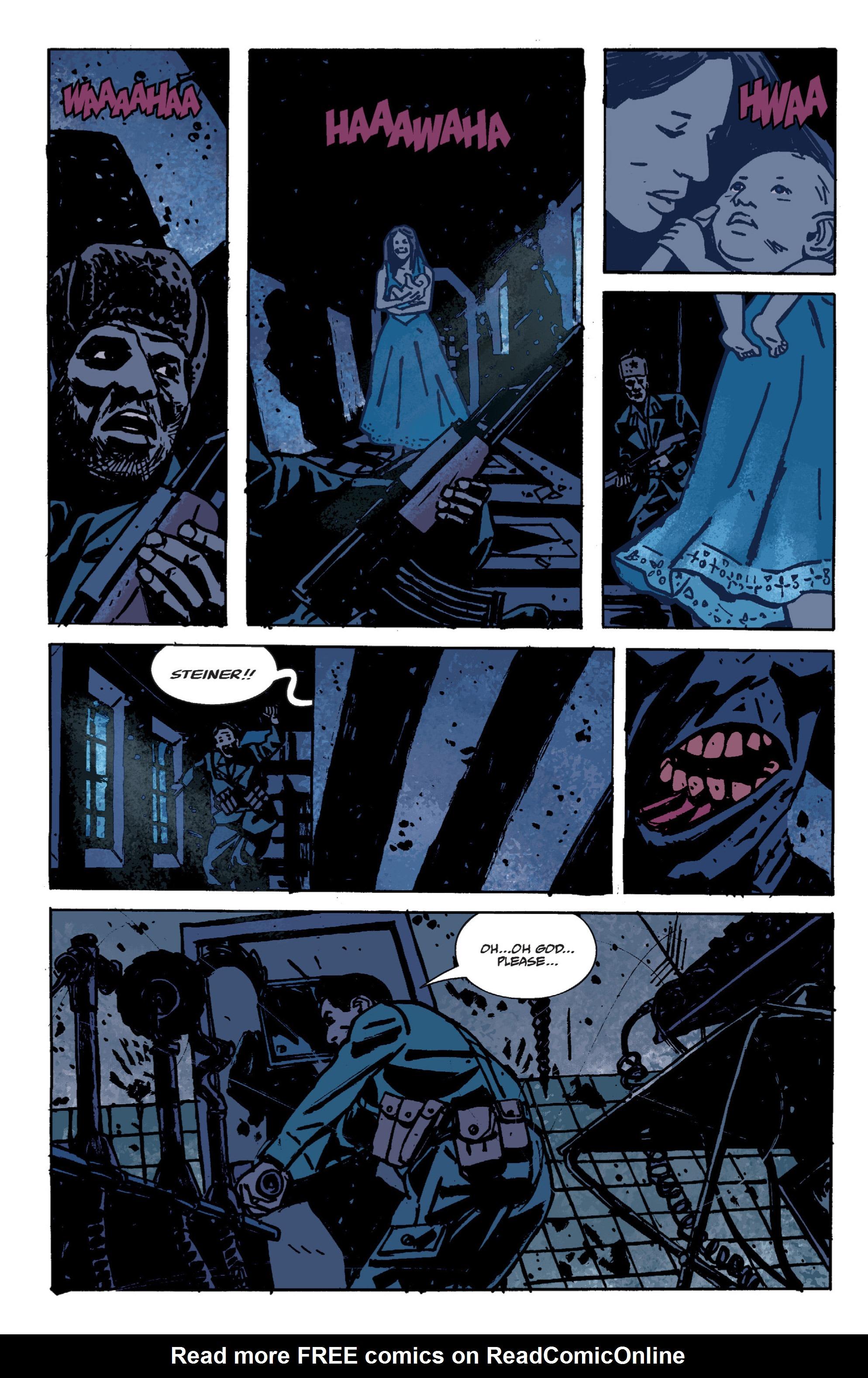 Read online B.P.R.D. (2003) comic -  Issue # TPB 9 - 68