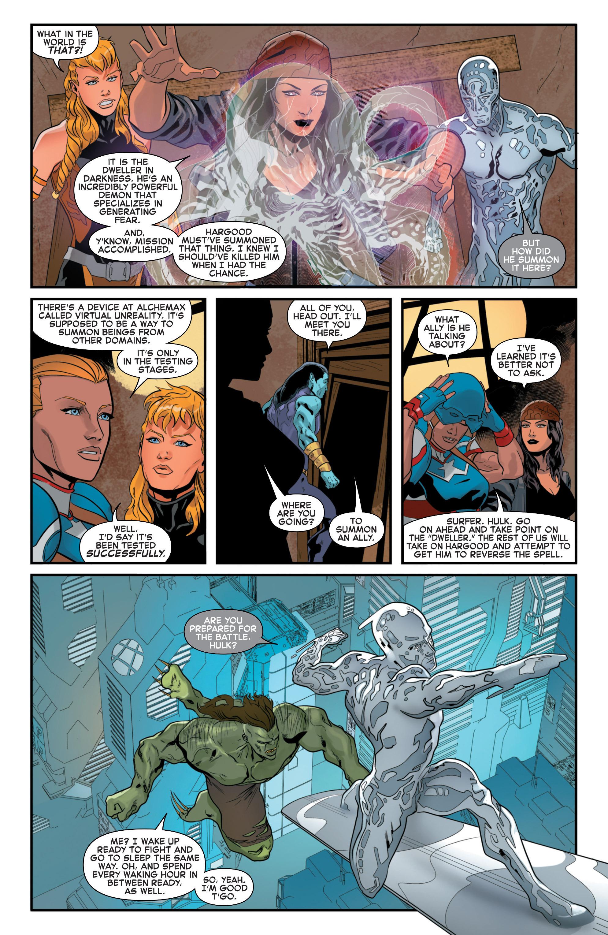 Read online Secret Wars 2099 comic -  Issue #5 - 7