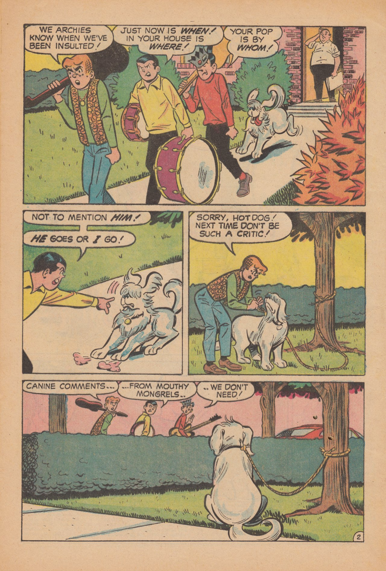 Read online Archie (1960) comic -  Issue #188 - 4