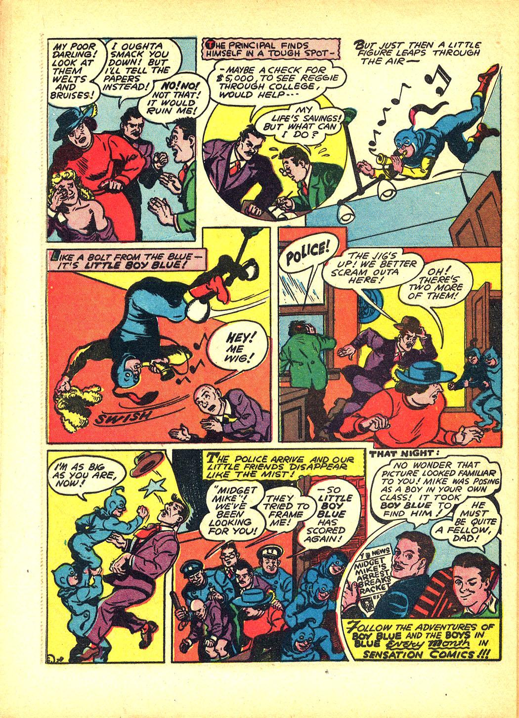 Read online Sensation (Mystery) Comics comic -  Issue #8 - 54